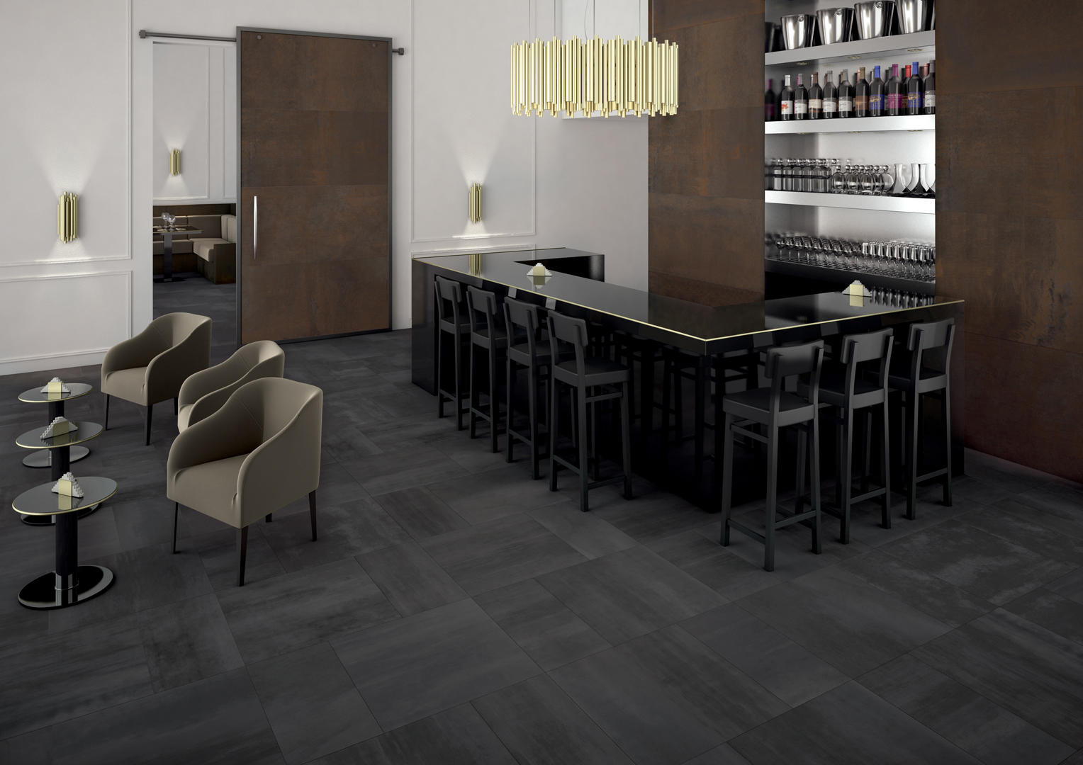 Dark tile floor image collections tile flooring design ideas tile floors dailygadgetfo Choice Image