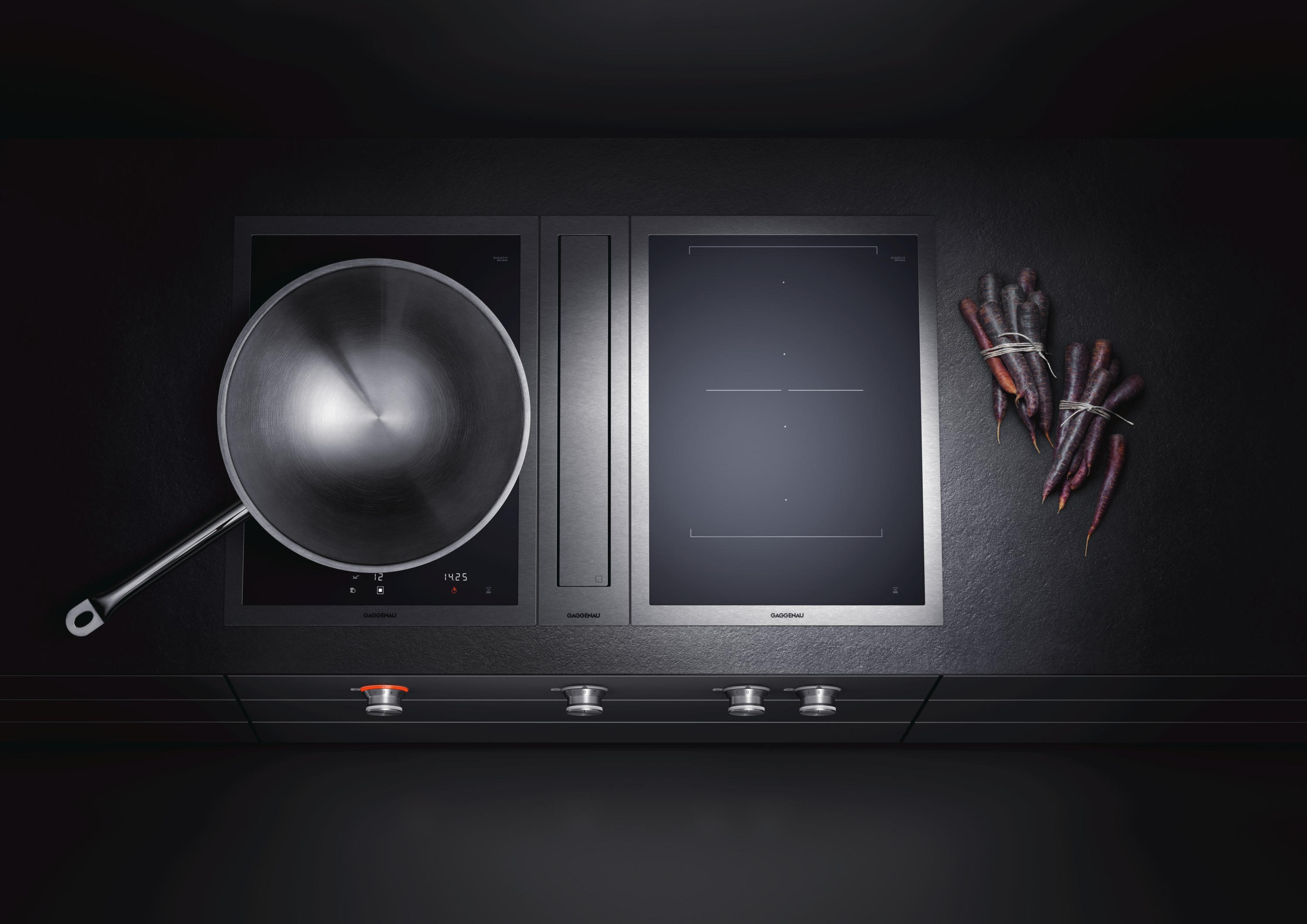 vario induction cooktop 400 series vi 492 hobs from gaggenau architonic. Black Bedroom Furniture Sets. Home Design Ideas