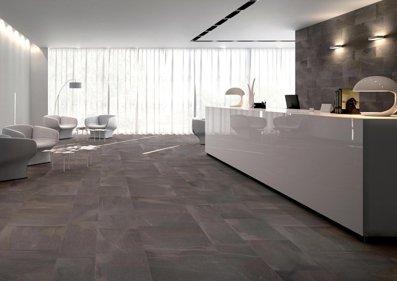 Pavimento In Pietra Naturale Per Interni : In out percorsi extra pietra di vals piastrelle ceramica keope