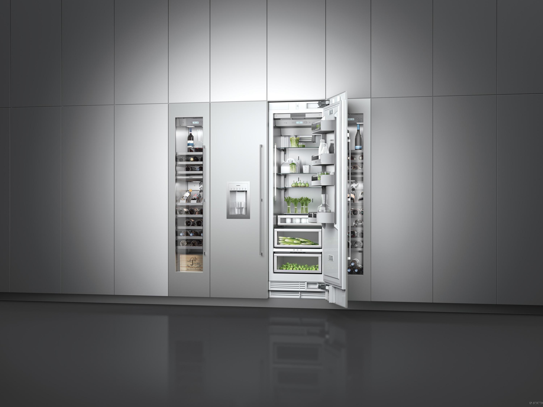 vario fridge freezer combination 400 series ry 492 refrigerators from gaggenau architonic. Black Bedroom Furniture Sets. Home Design Ideas
