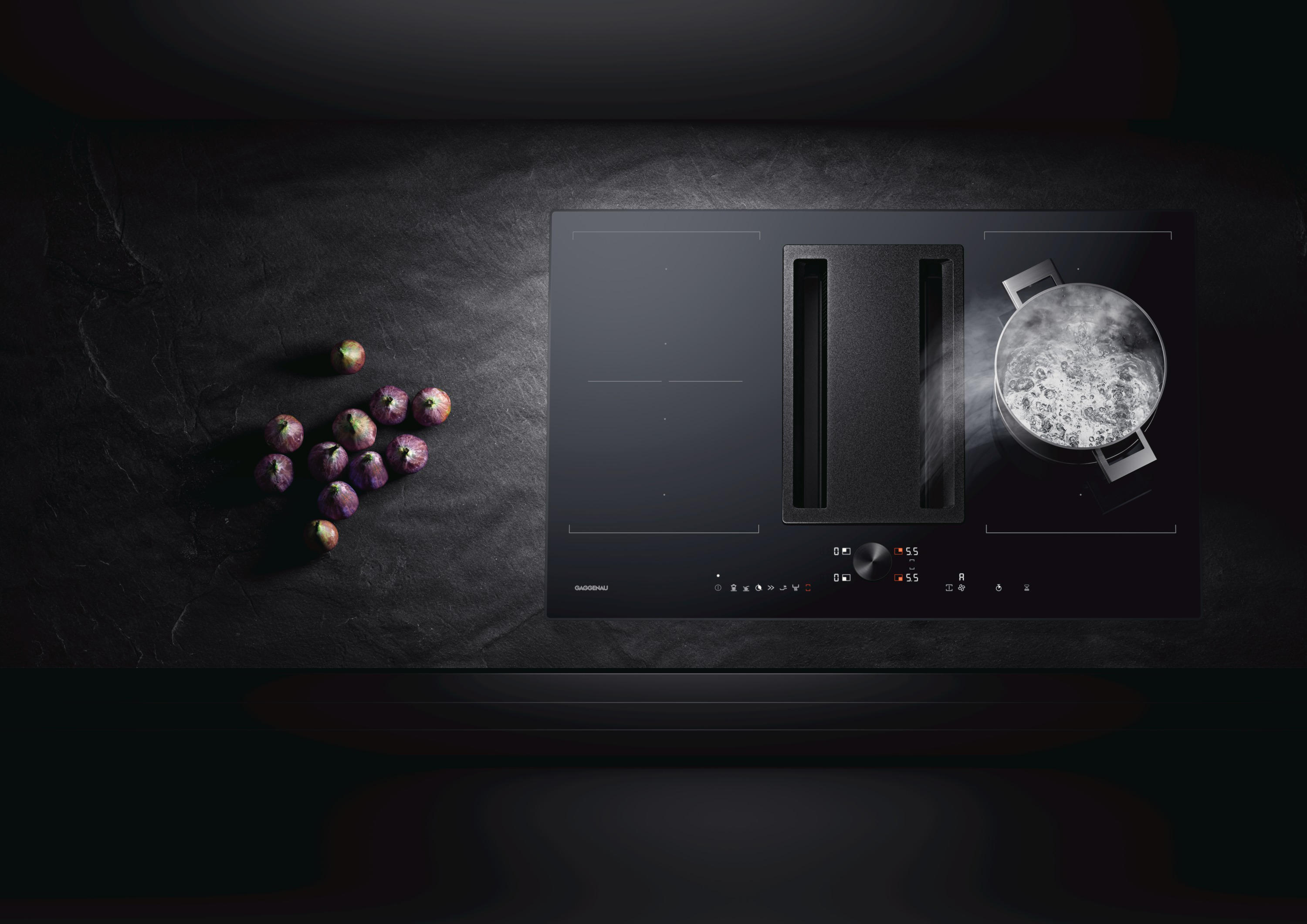 Flex Induction Cooktop With Downdraft Ventilation | CVL 420 By Gaggenau