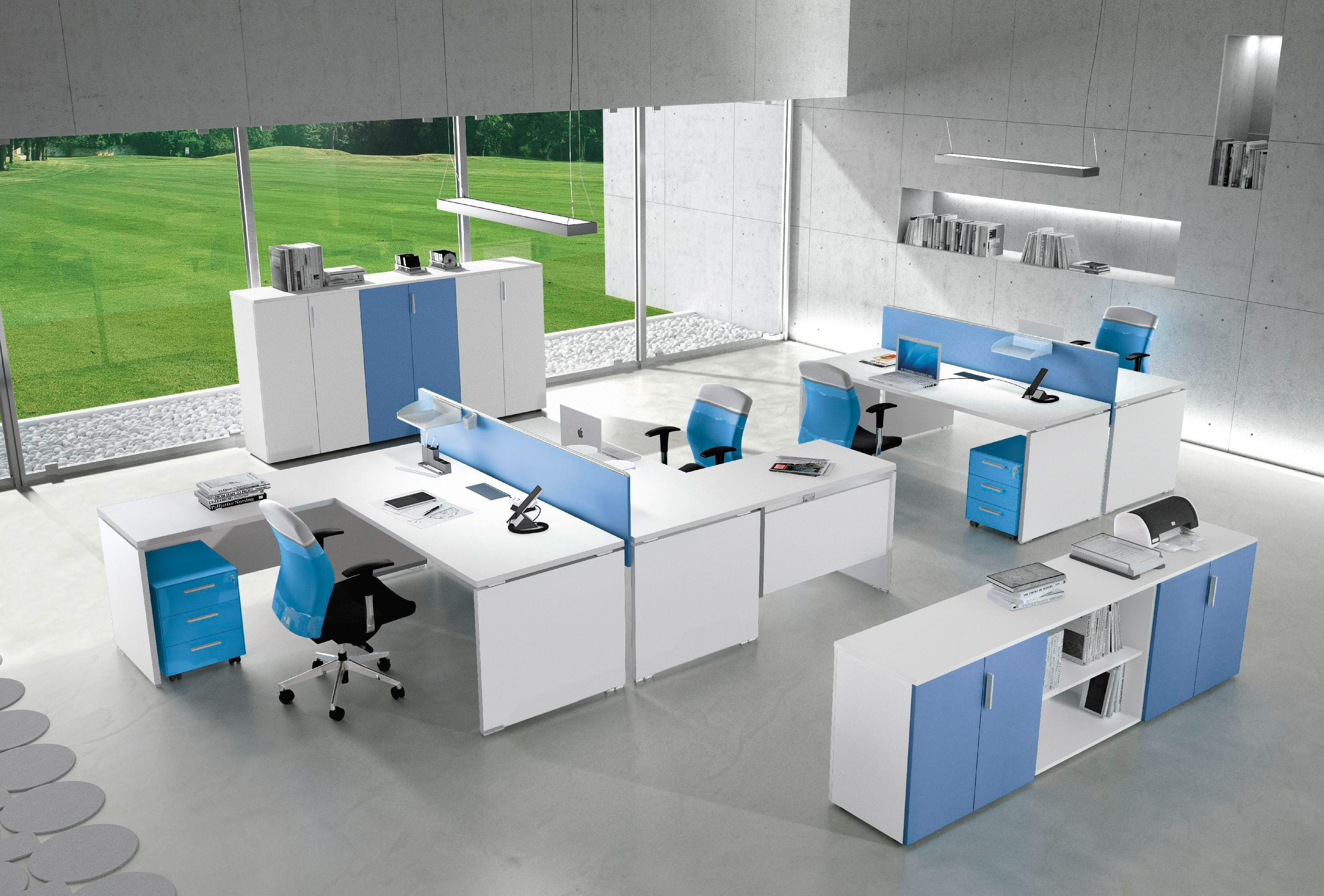 Atlante desking systems from alea architonic for Arredo system