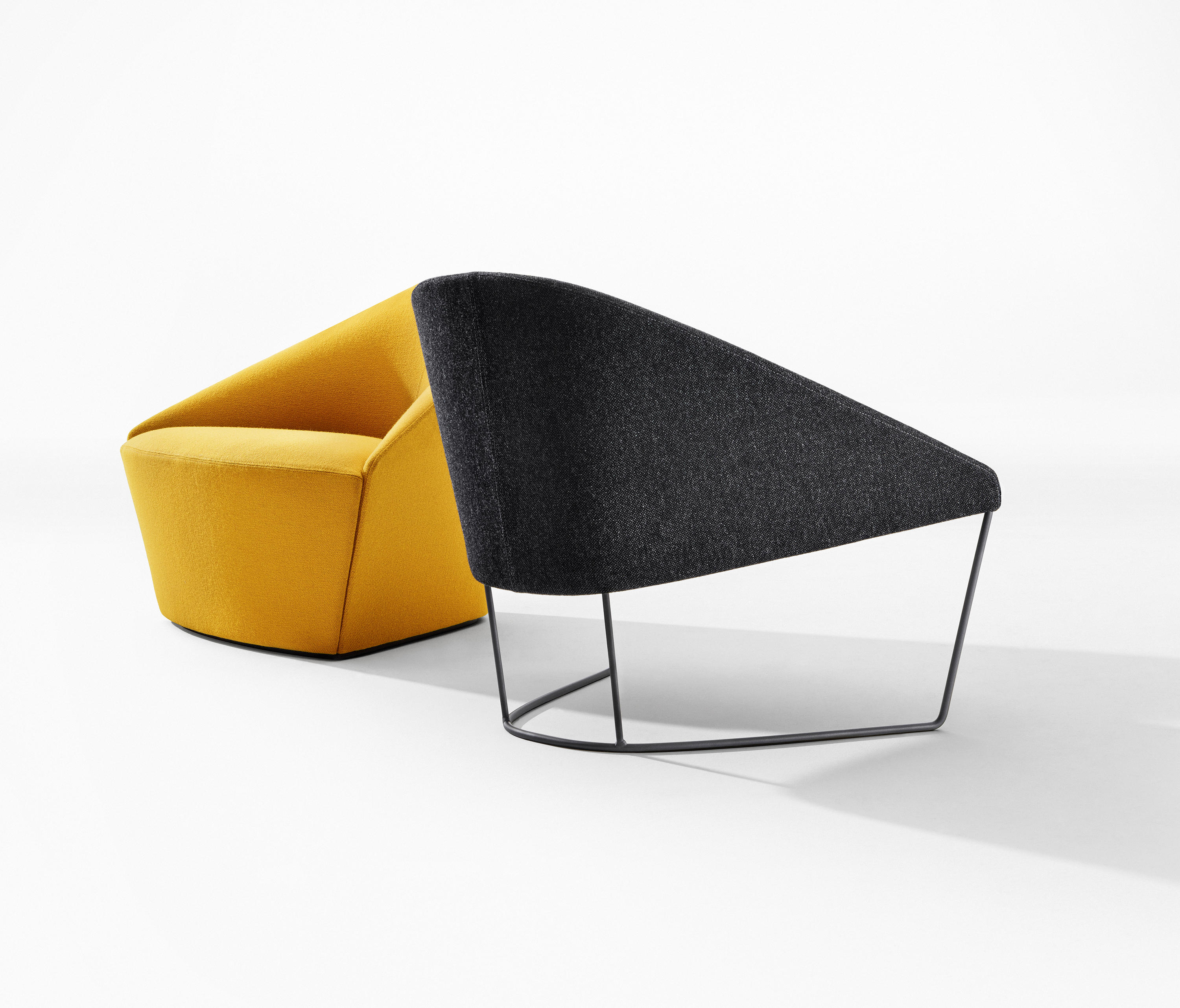 Colina L Lounge Chairs From Arper Architonic