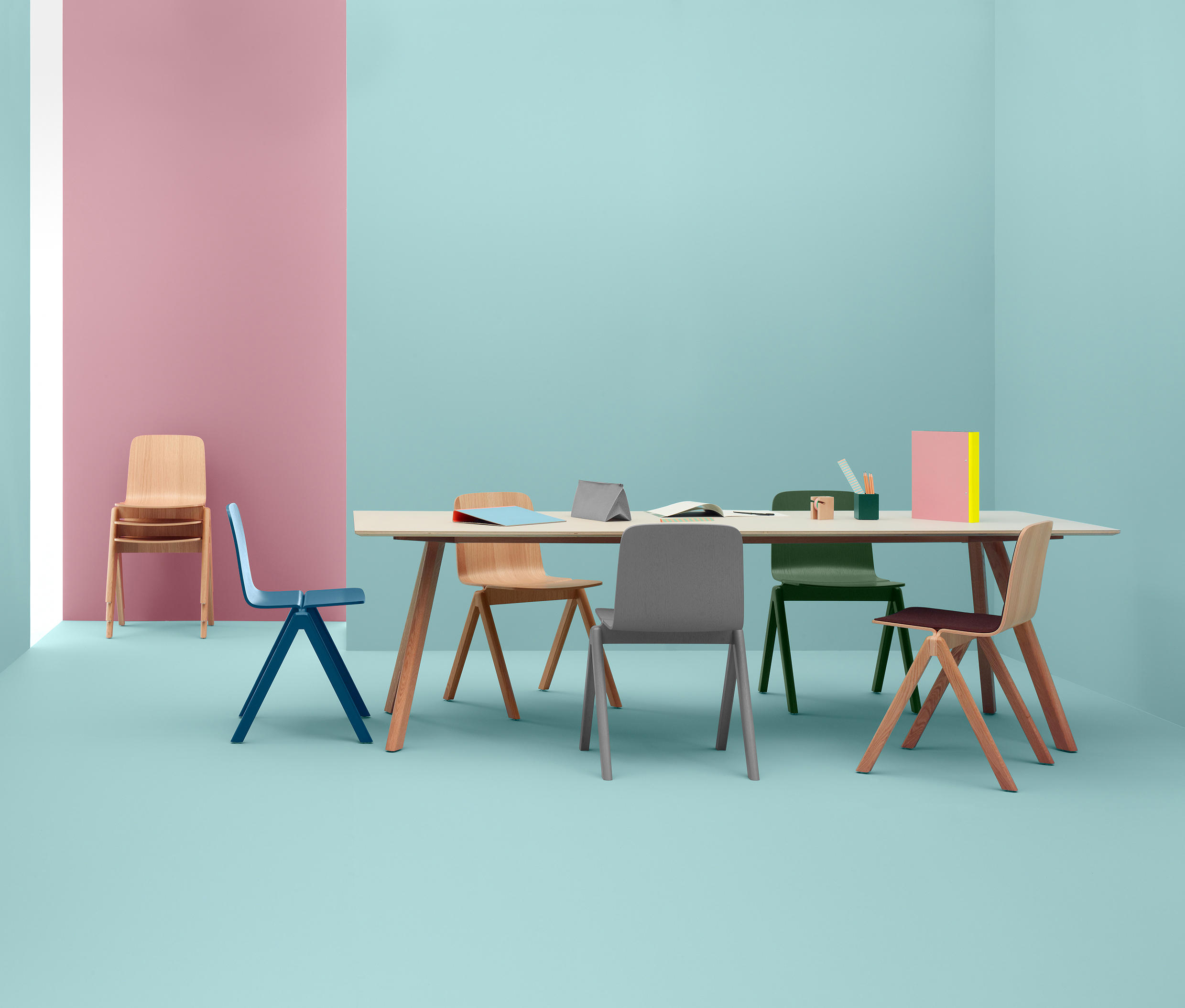 Copenhague Chair Multipurpose Chairs From Hay Architonic