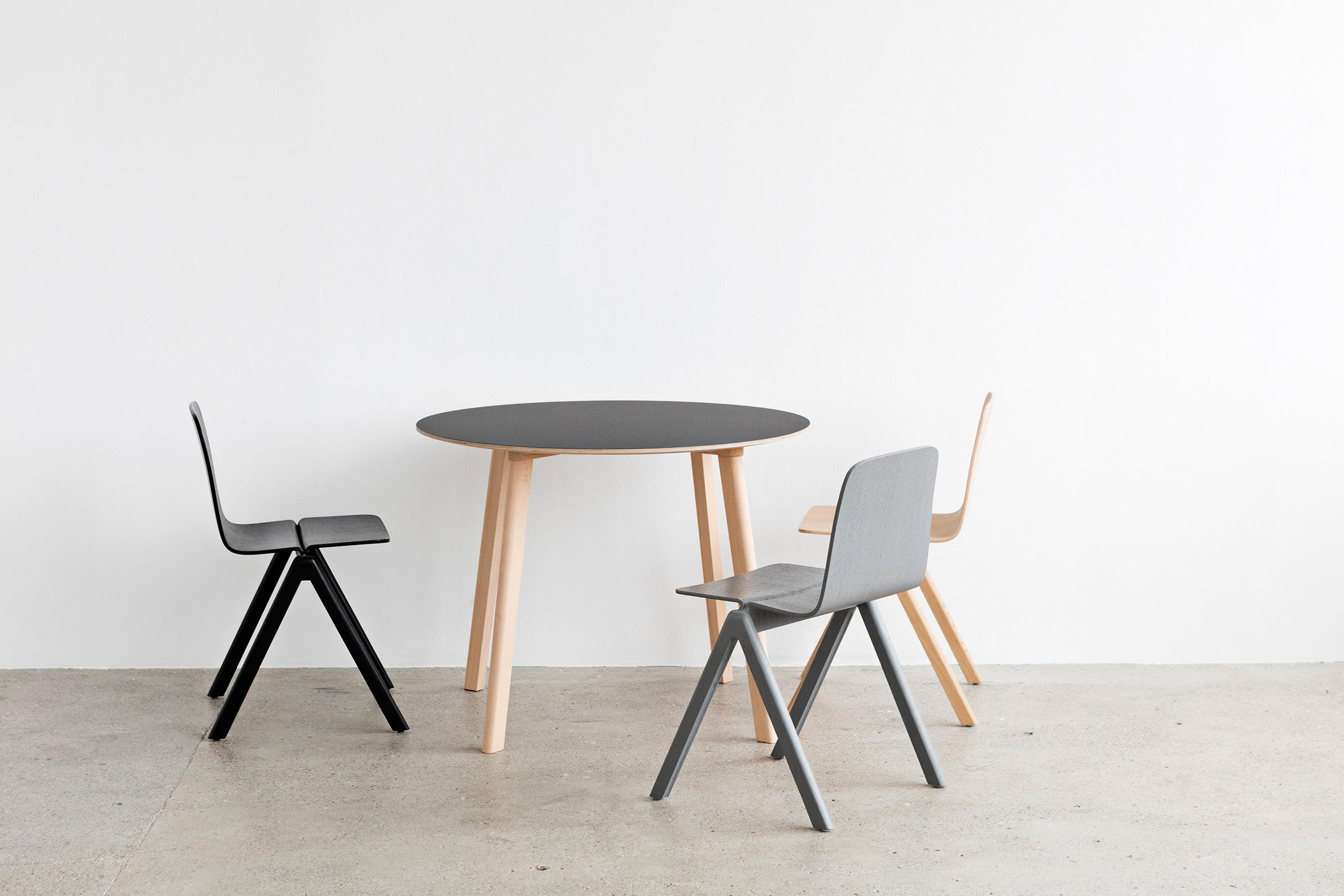 copenhague deux table cph210 canteen tables from hay architonic. Black Bedroom Furniture Sets. Home Design Ideas