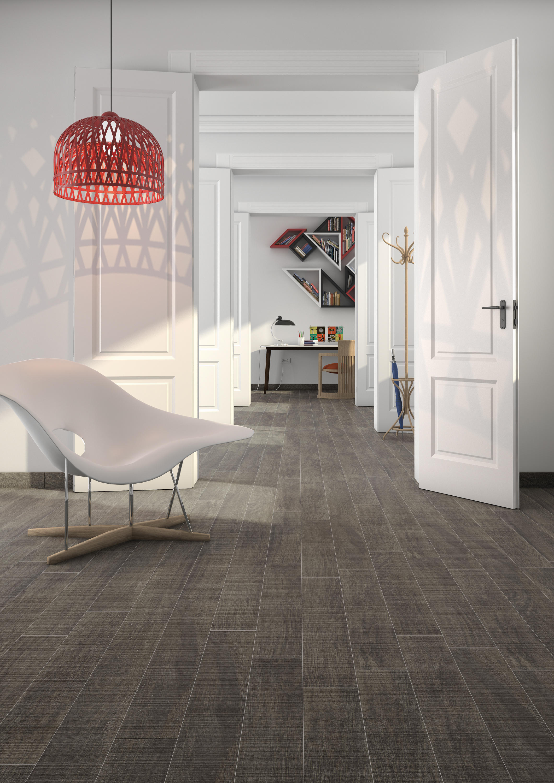Nora r marron floor tiles from vives cer mica architonic - Ceramico imitacion madera ...