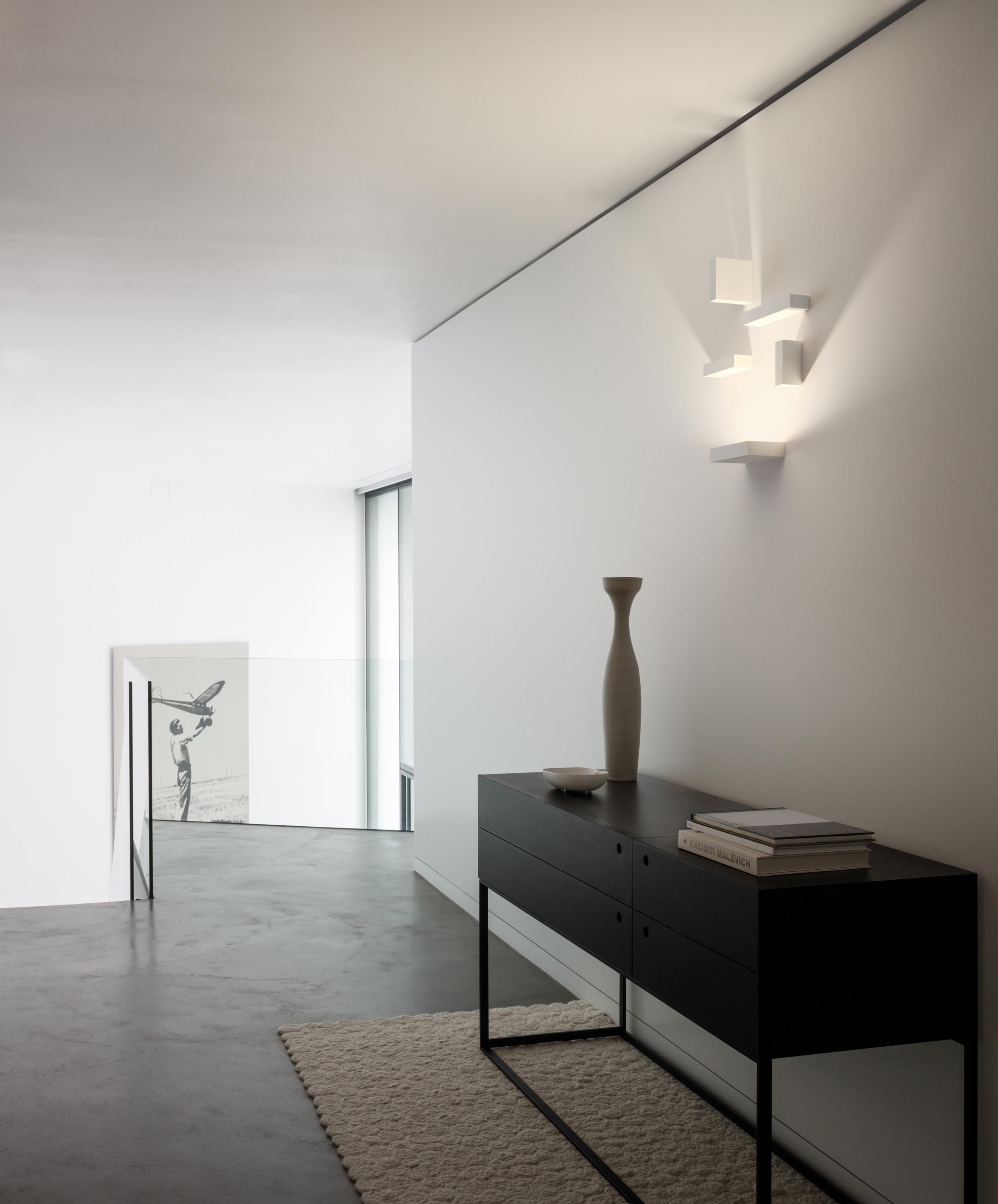 set big wall lamp general lighting from vibia architonic. Black Bedroom Furniture Sets. Home Design Ideas