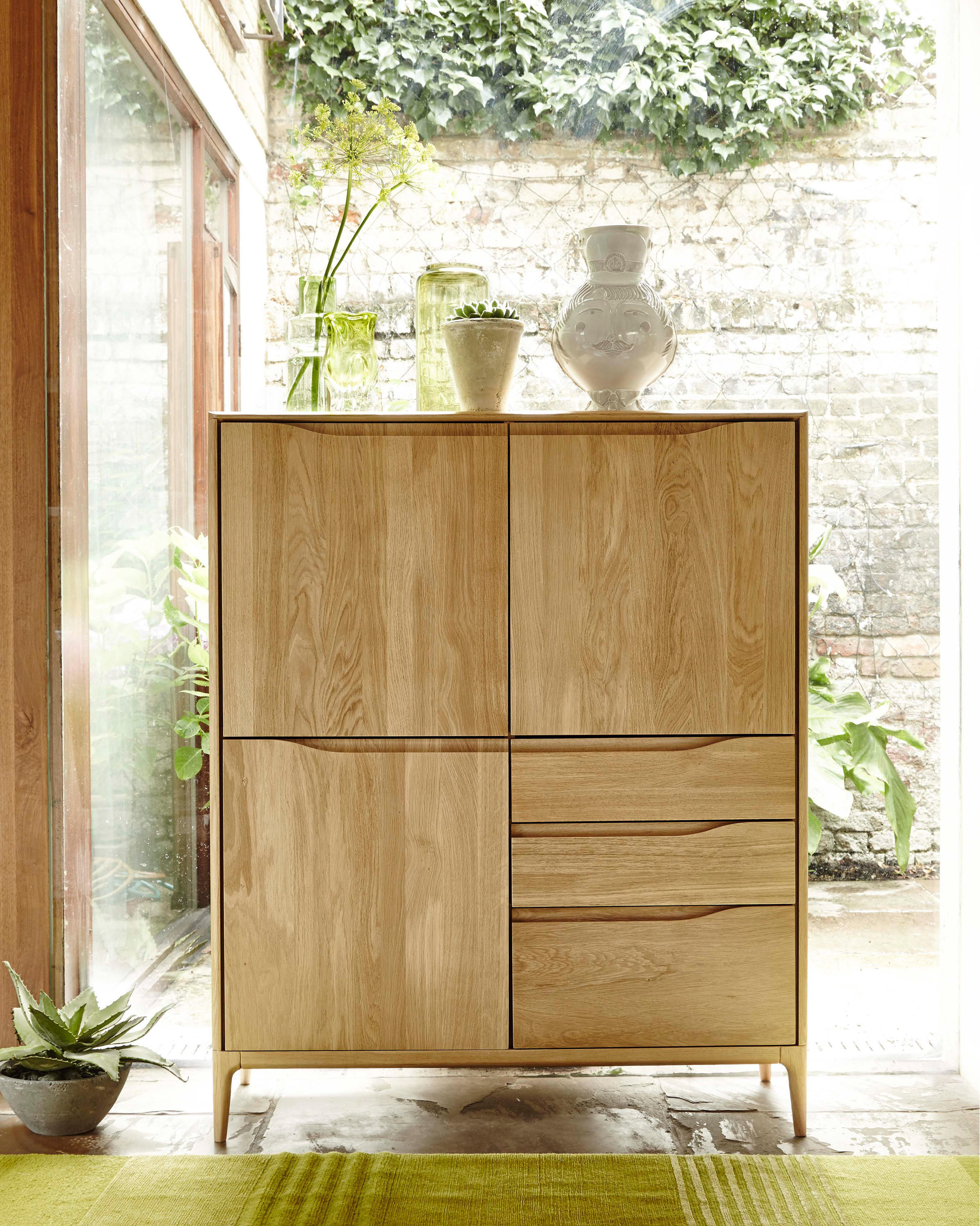 Romana lamp table side tables from ercol architonic romana lamp table by ercol aloadofball Images