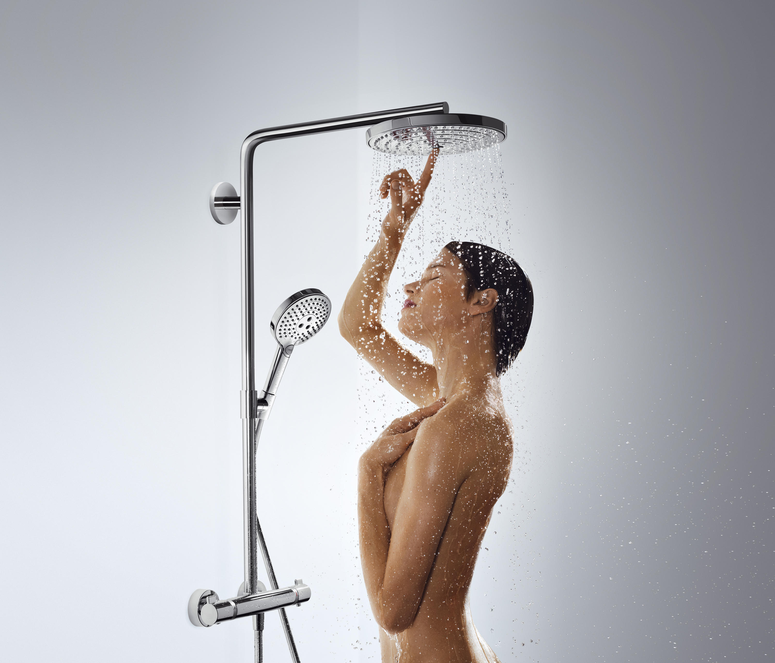 hansgrohe raindance select s 300 2jet showerpipe. Black Bedroom Furniture Sets. Home Design Ideas