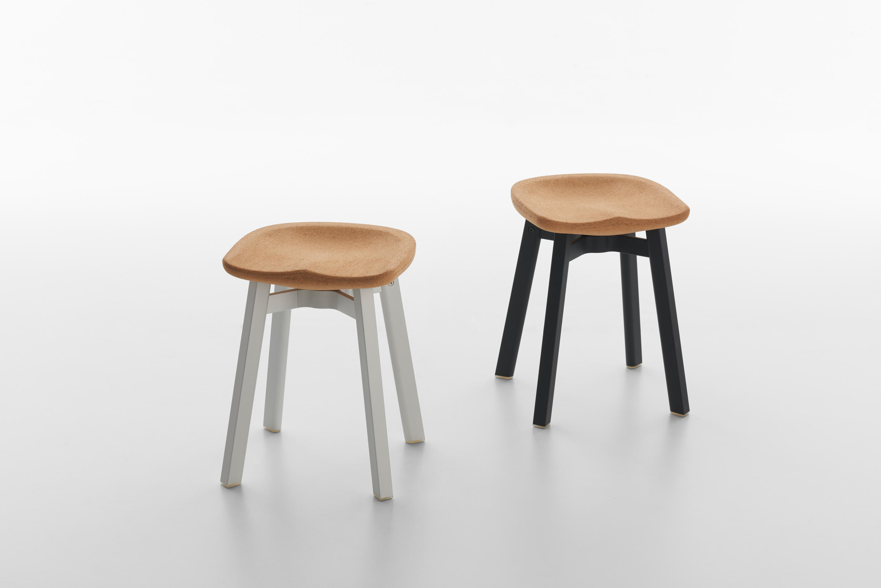 Broom chair for emeco in 2012 to showcase the properties of a new wood -  Emeco Su Small Stool By Emeco