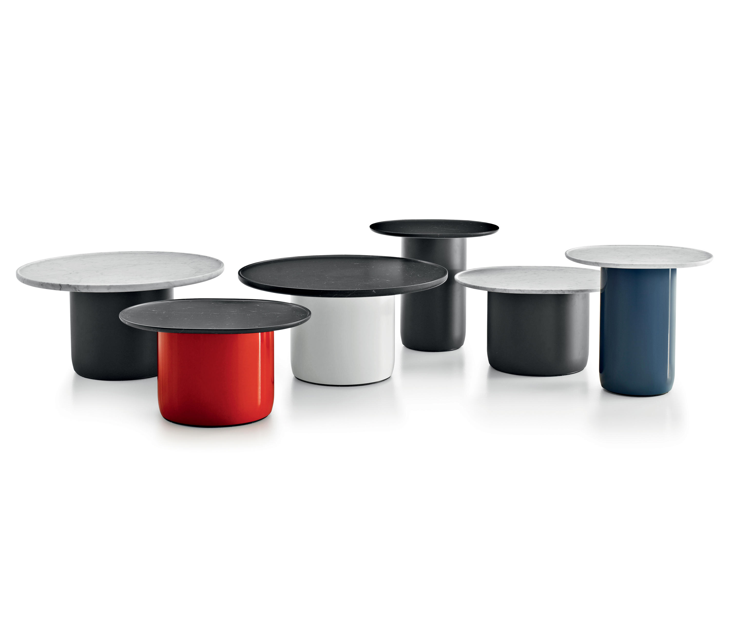button side tables from b b italia architonic. Black Bedroom Furniture Sets. Home Design Ideas
