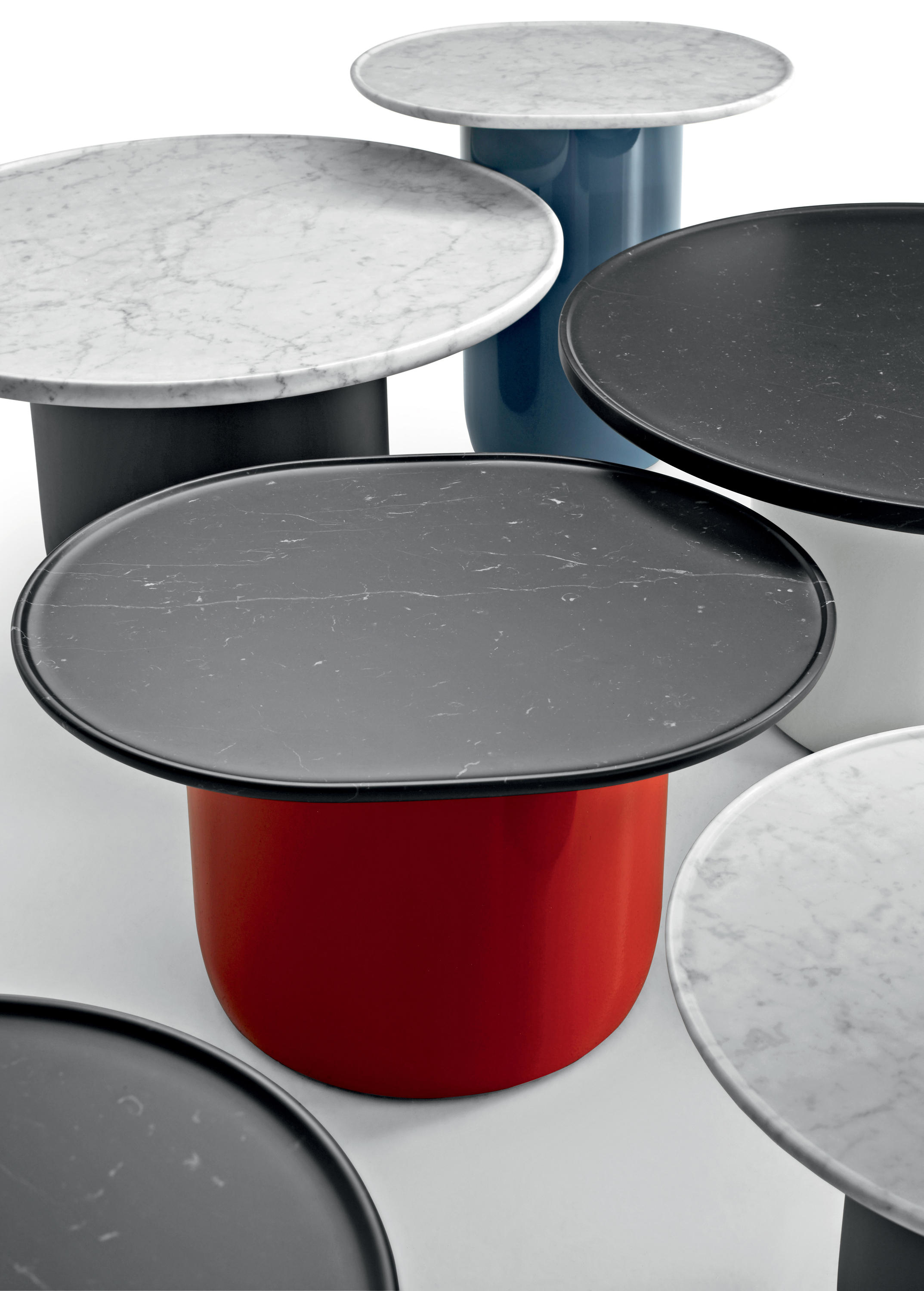 Button side tables from b b italia architonic for B b furniture