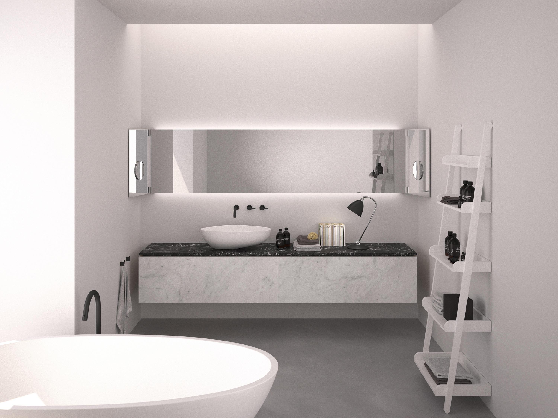 Drop free standing baths from agape architonic for Habitaciones minimalistas