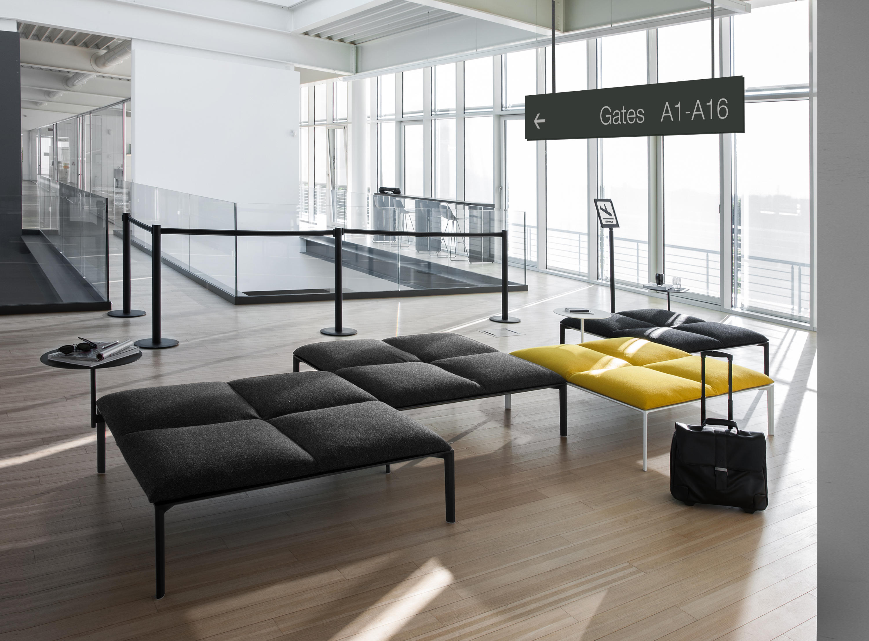Beau Add Bench System By Lapalma Add Bench System By Lapalma ...
