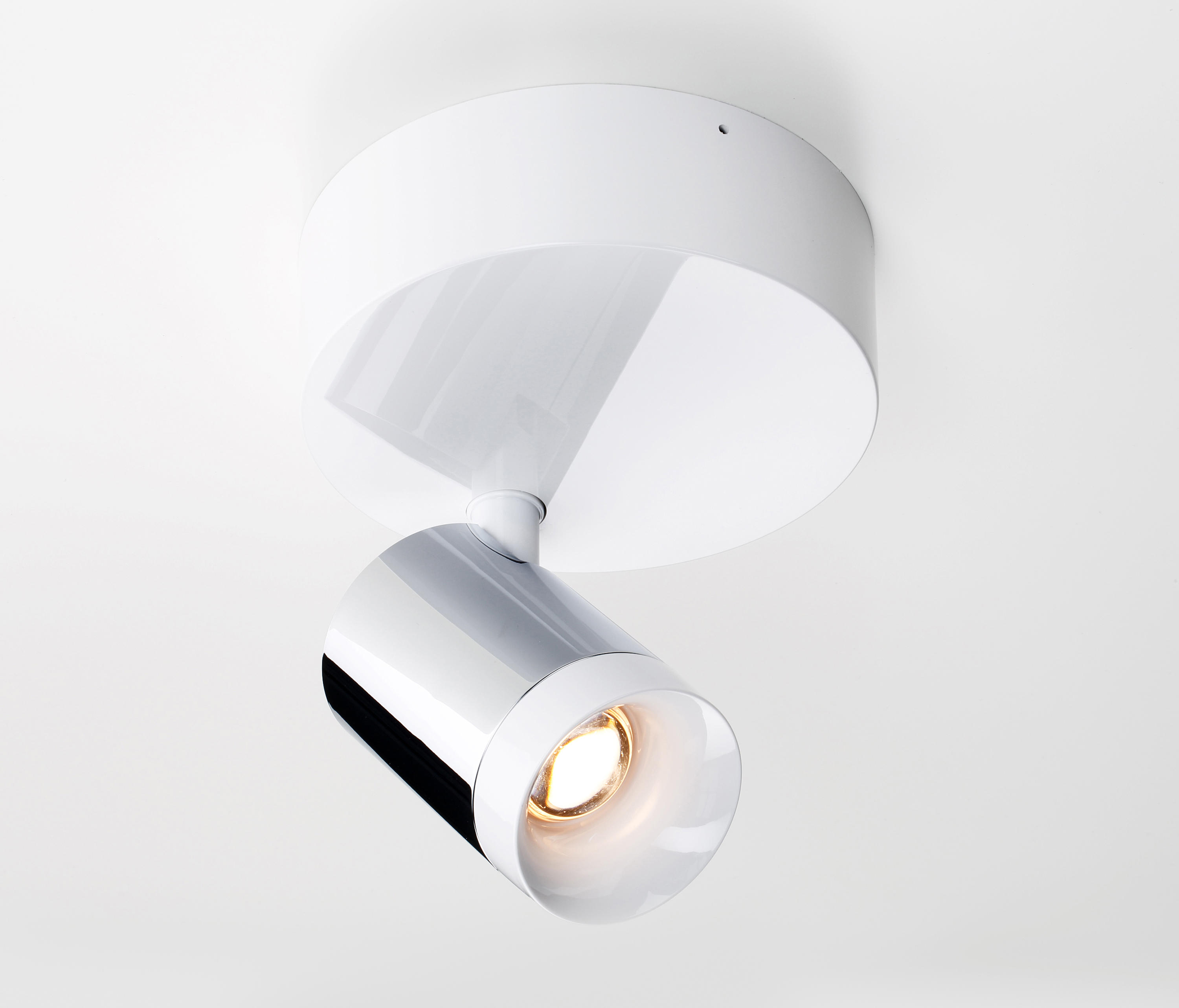 Tobias Grau Spot set in chrome white ceiling mounted spotlights from tobias grau
