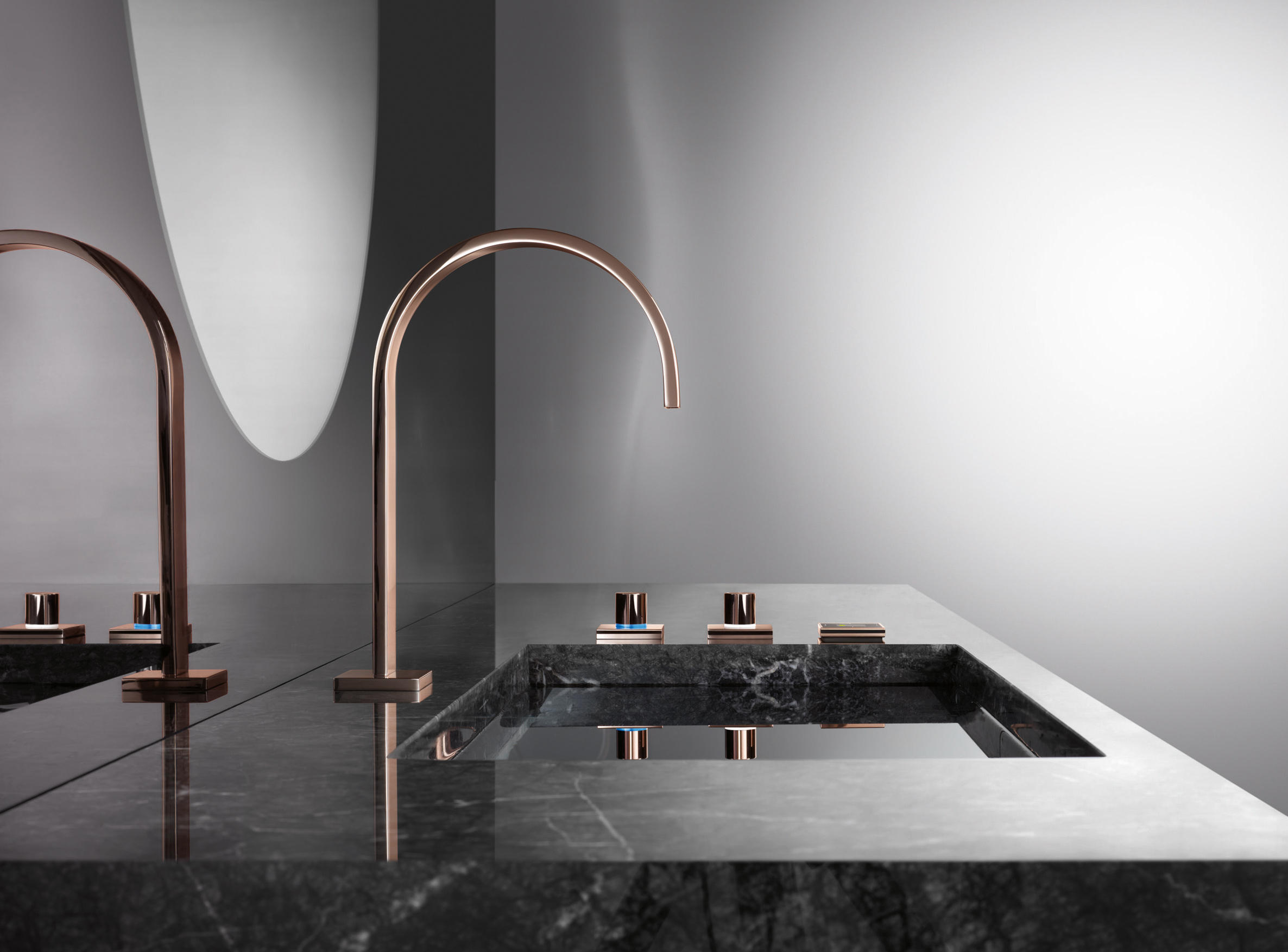 CYPRUM KITCHEN Kitchen Taps From Dornbracht Architonic - Rose gold kitchen faucet