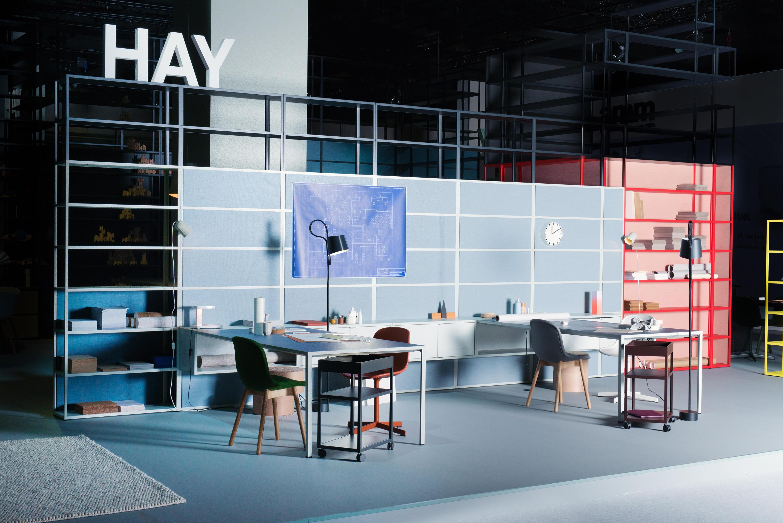 new order workspace multi desks island desks from hay. Black Bedroom Furniture Sets. Home Design Ideas