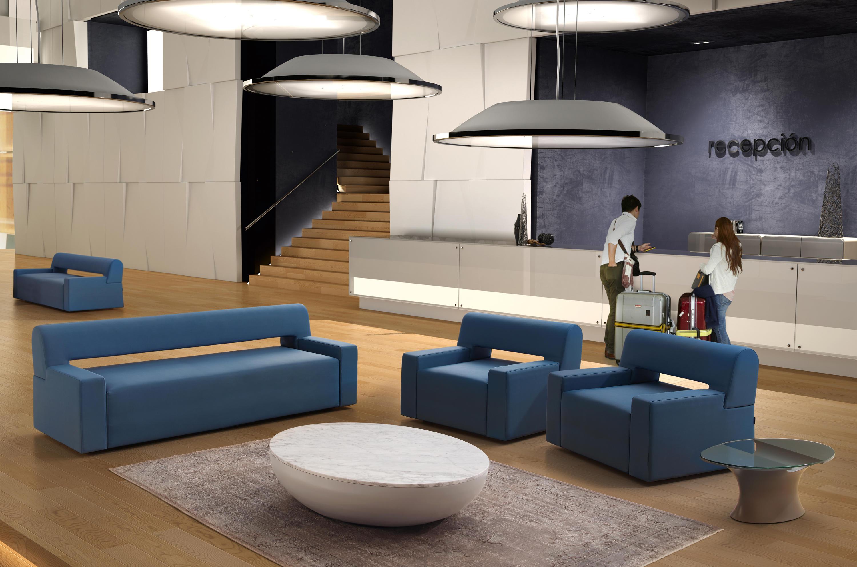 LUNA Lounge tables from BELTA & FRAJUMAR