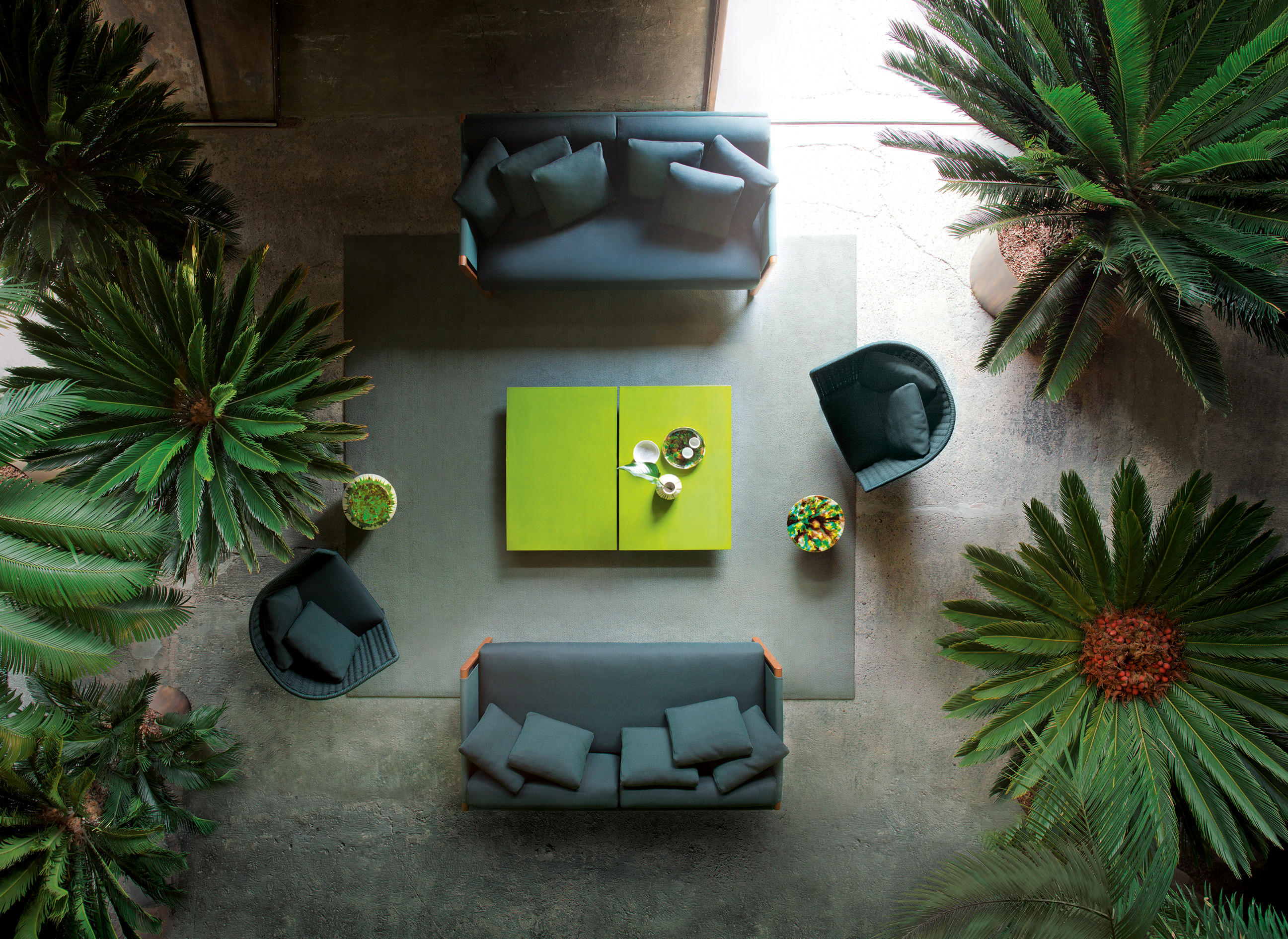 Portofino Dining Table Dining Tables From Paola Lenti
