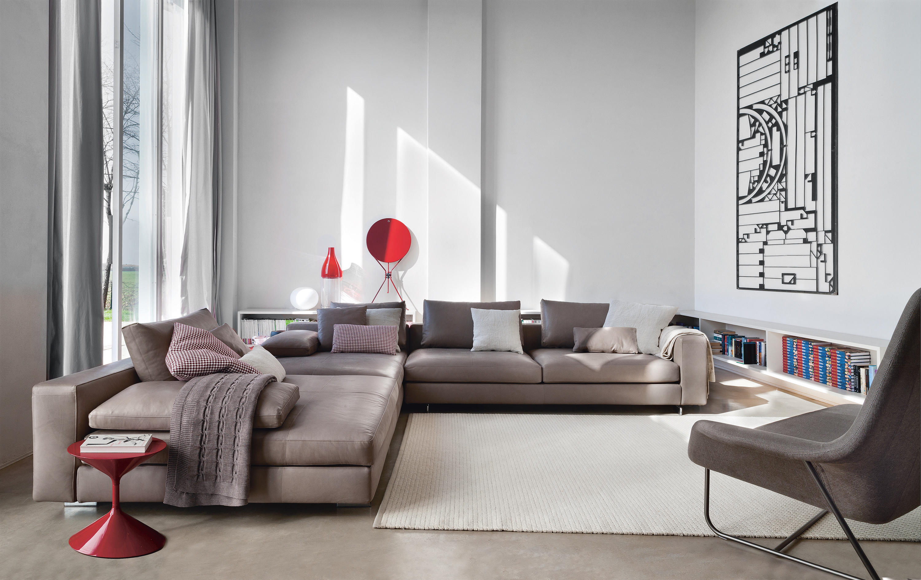 Scott Sofa 1235 By Zanotta