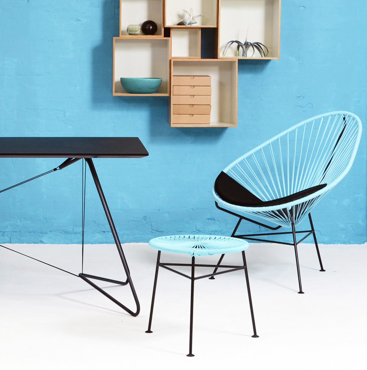 Acapulco chair outdoor -  Acapulco Chair By Ok Design