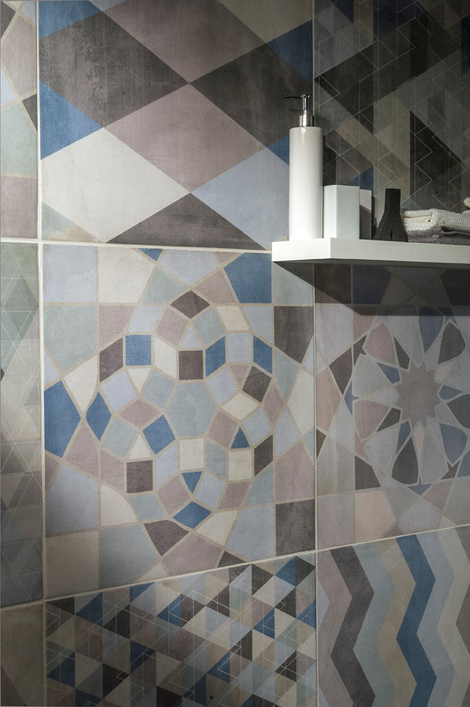 One Mix Deco Floor Tiles From Caesar Architonic