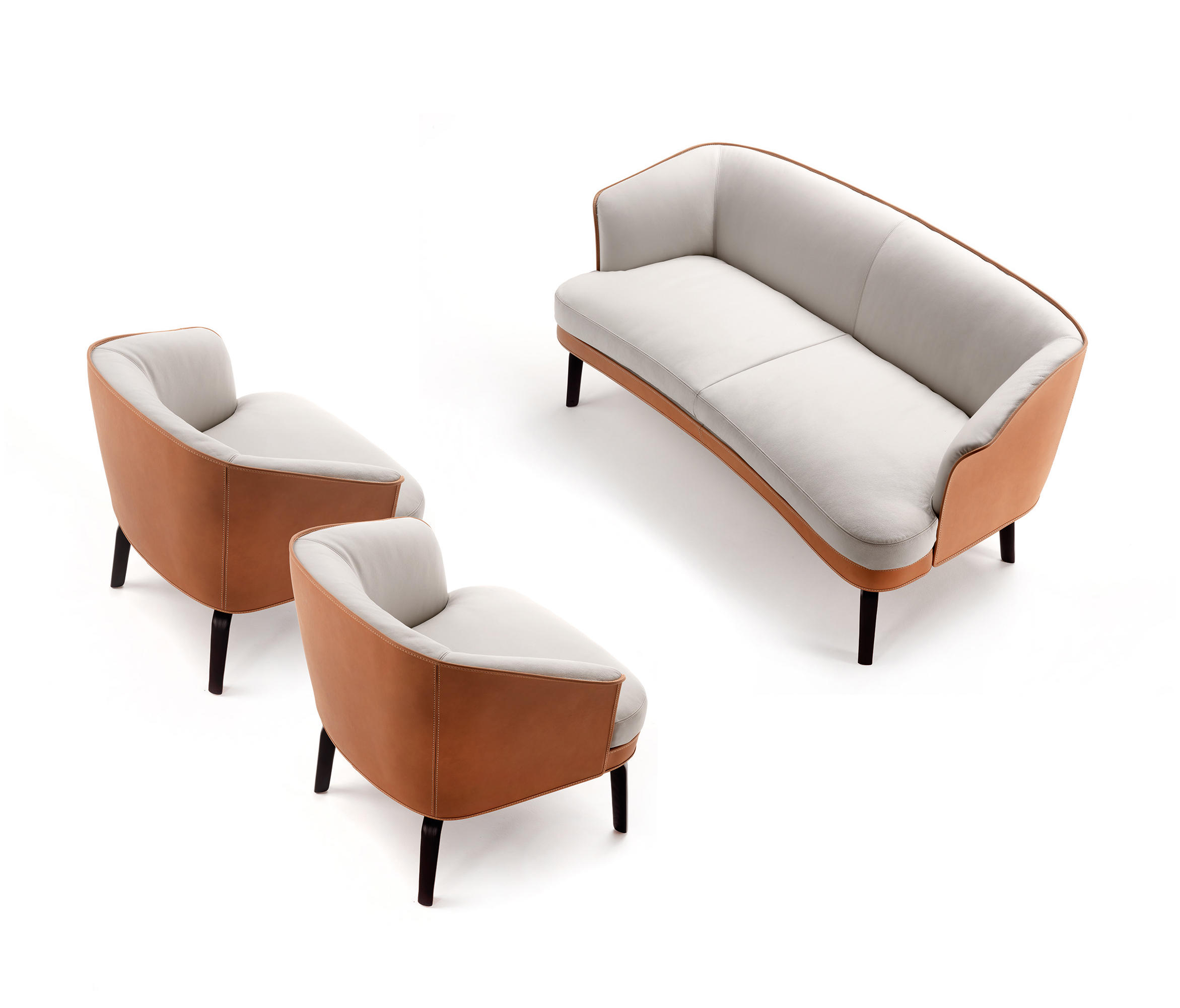 Nivola Sofa Lounge Sofas From Poltrona Frau Architonic