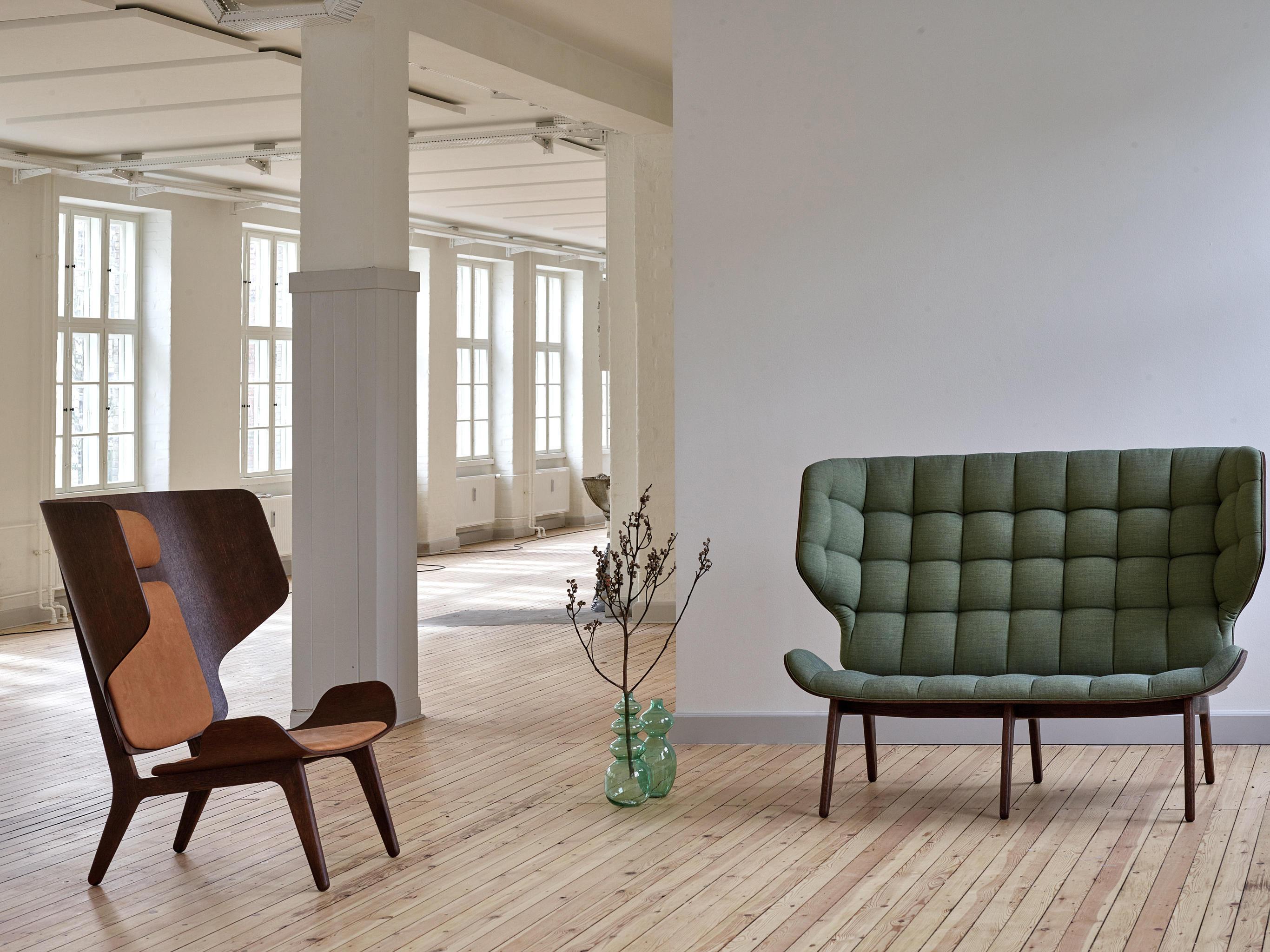 Mammoth Chair Limited Edition Black Fabric Kvadrat Basel