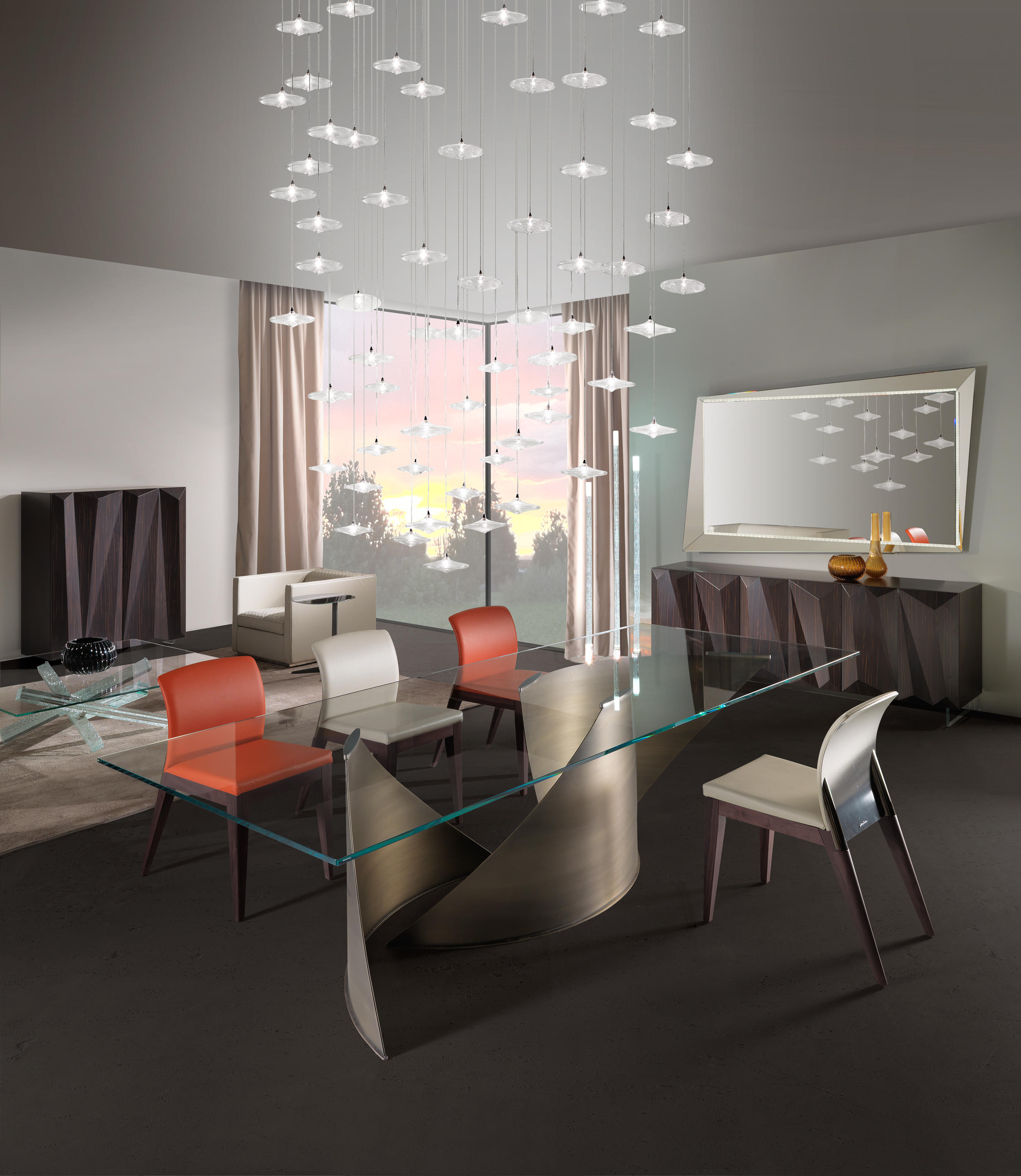 Vele 72 dining tables from reflex architonic for Reflex tavoli