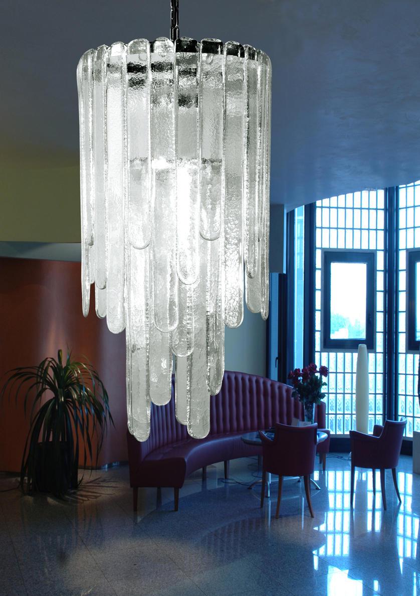Cascata sospensione - Lampadari da soffitto di A.V. Mazzega ...