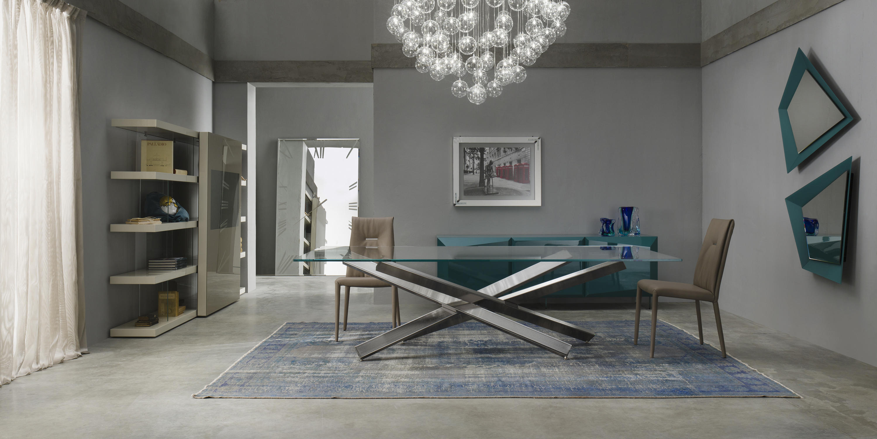Mikado 72 dining tables from reflex architonic for Reflex tavoli