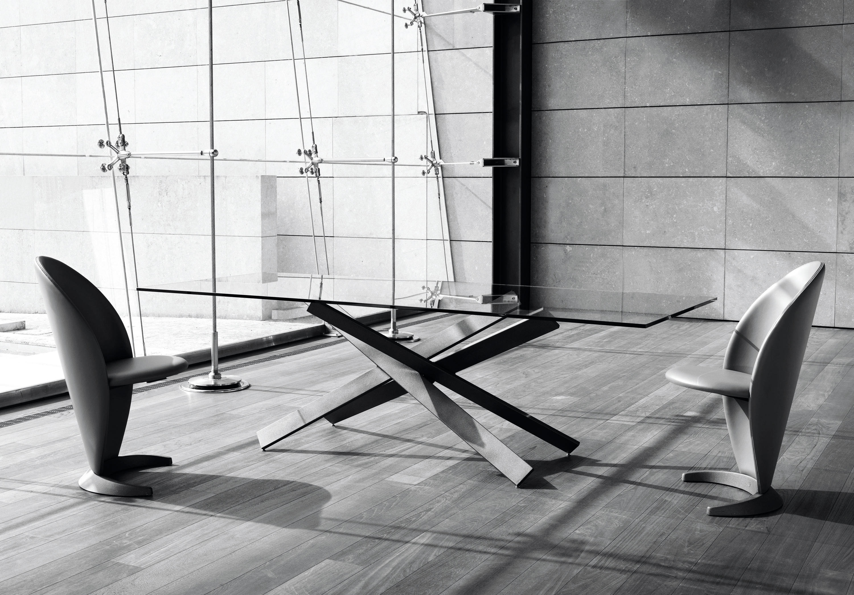 Tavoli Cristallo Allungabili Reflex.Mikado 72 Tavoli Pranzo Reflex Architonic