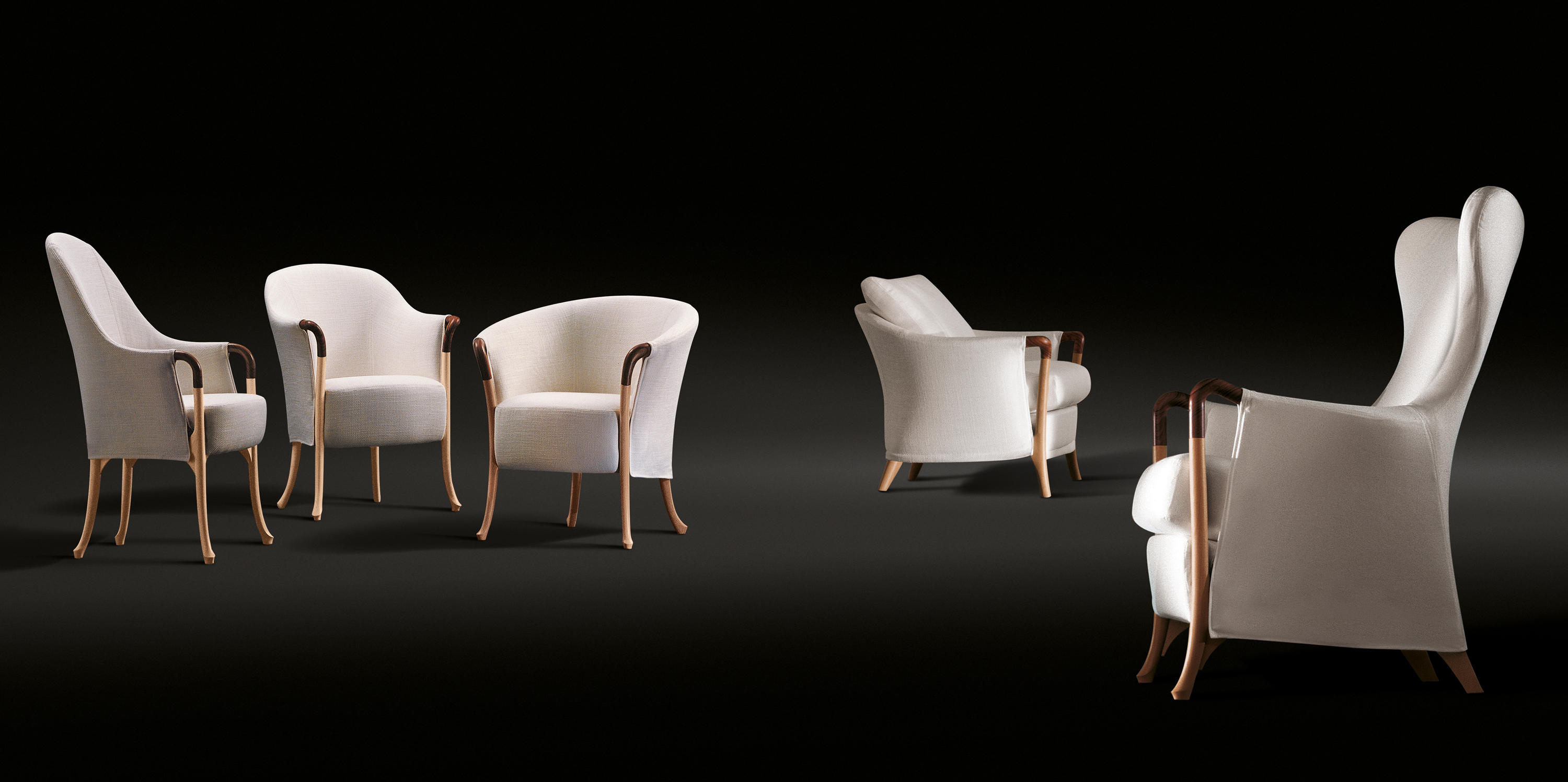 Progetti Armchair Lounge Chairs From Giorgetti Architonic
