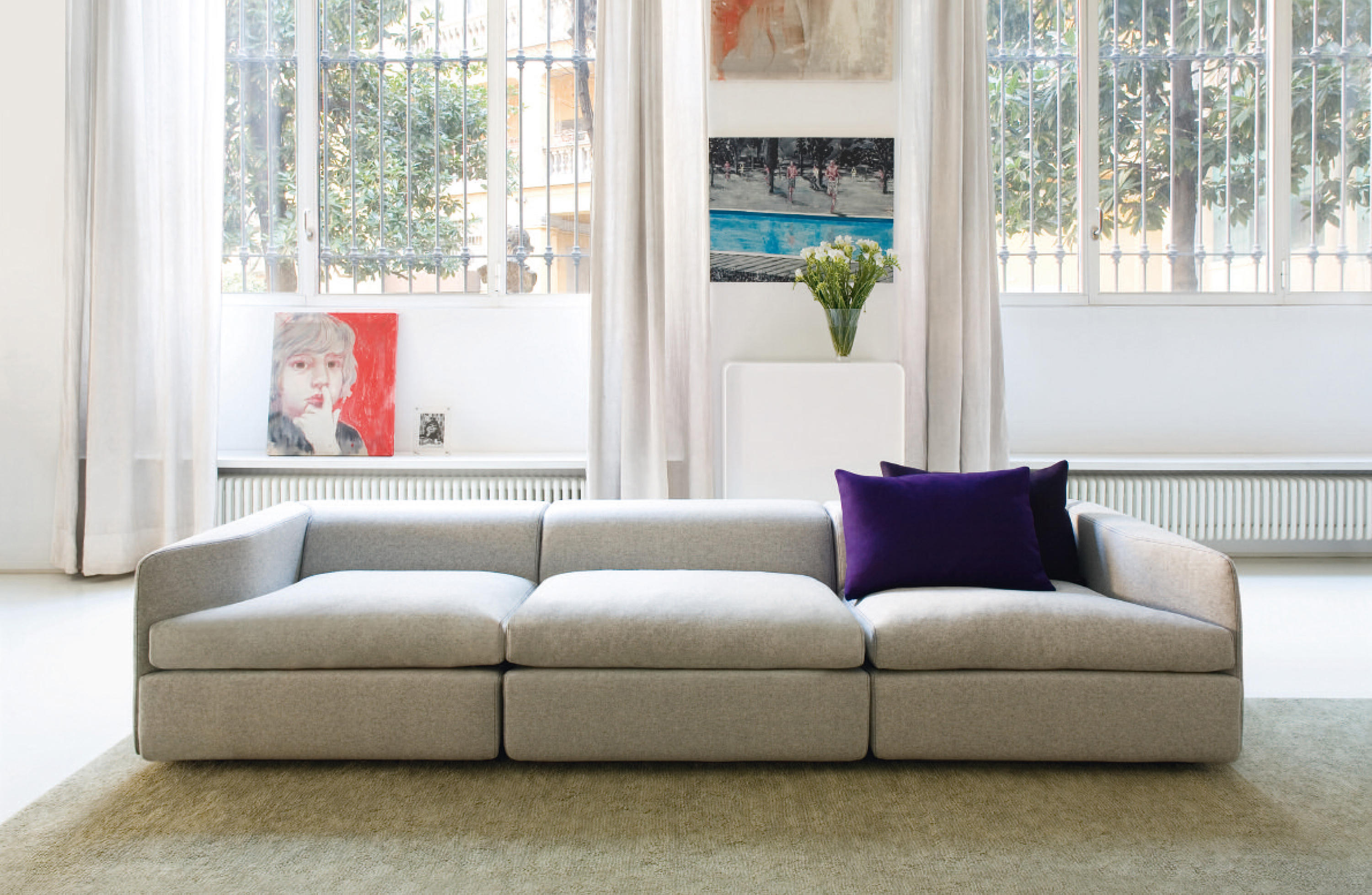 OPEN SOFA Lounge sofas from OBJEKTEN