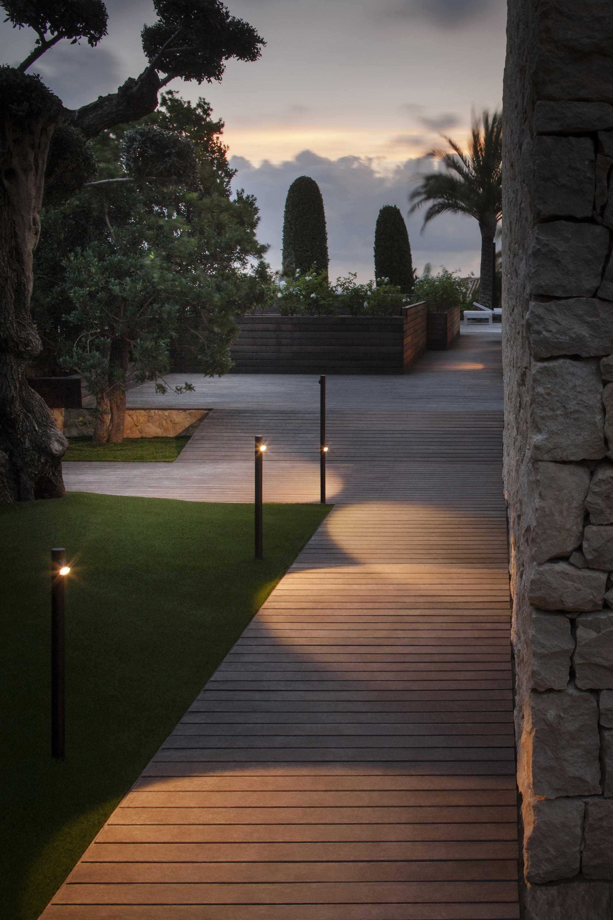 Outdoor Recessed Floor Lights
