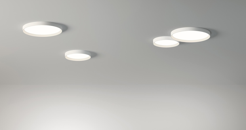 Lampade A Led Da Soffitto Per Ufficio : Up lampada da soffitto lampade plafoniere vibia architonic