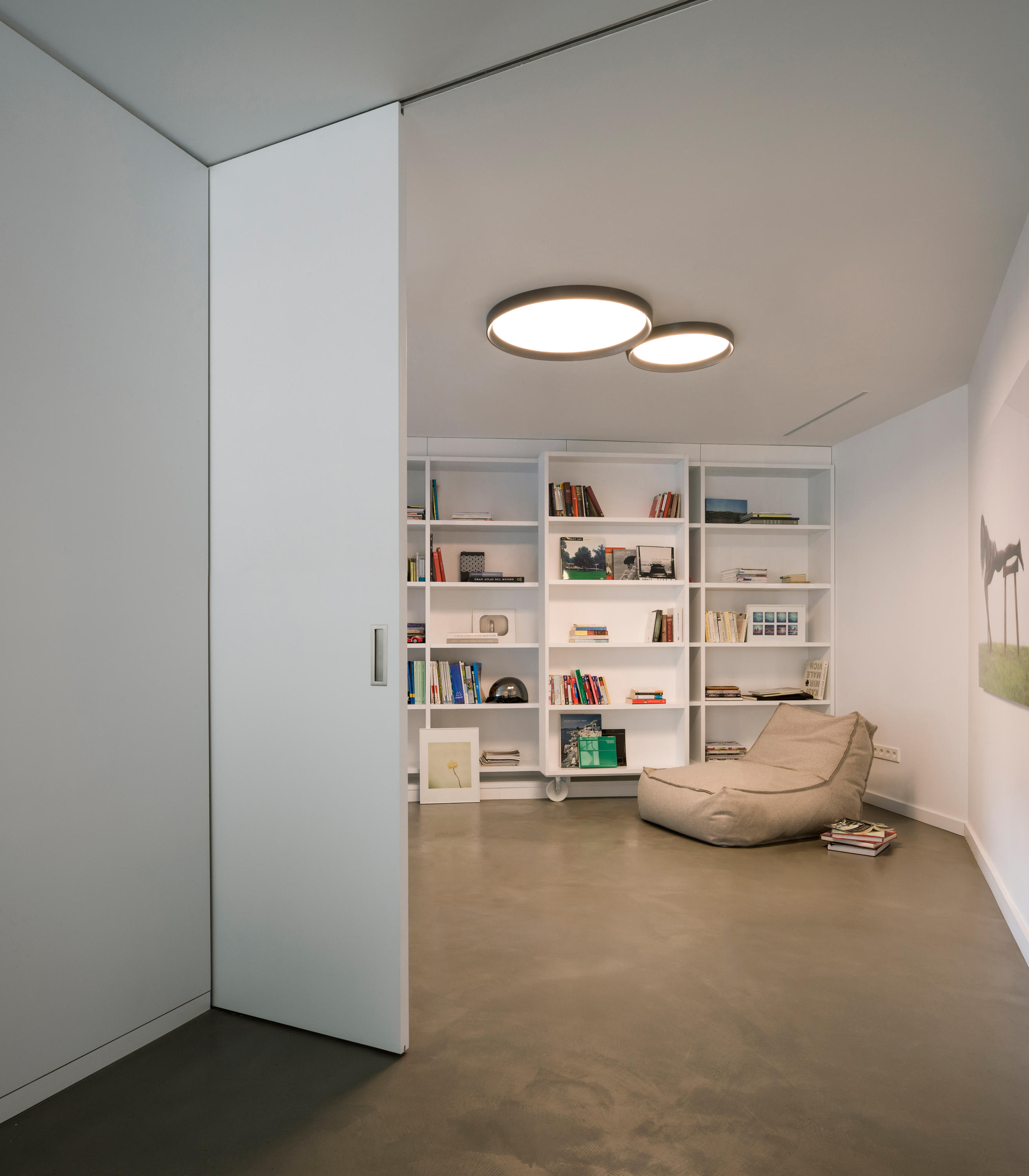 Up 4452 ceiling lamp general lighting from vibia - Plafones de led ...