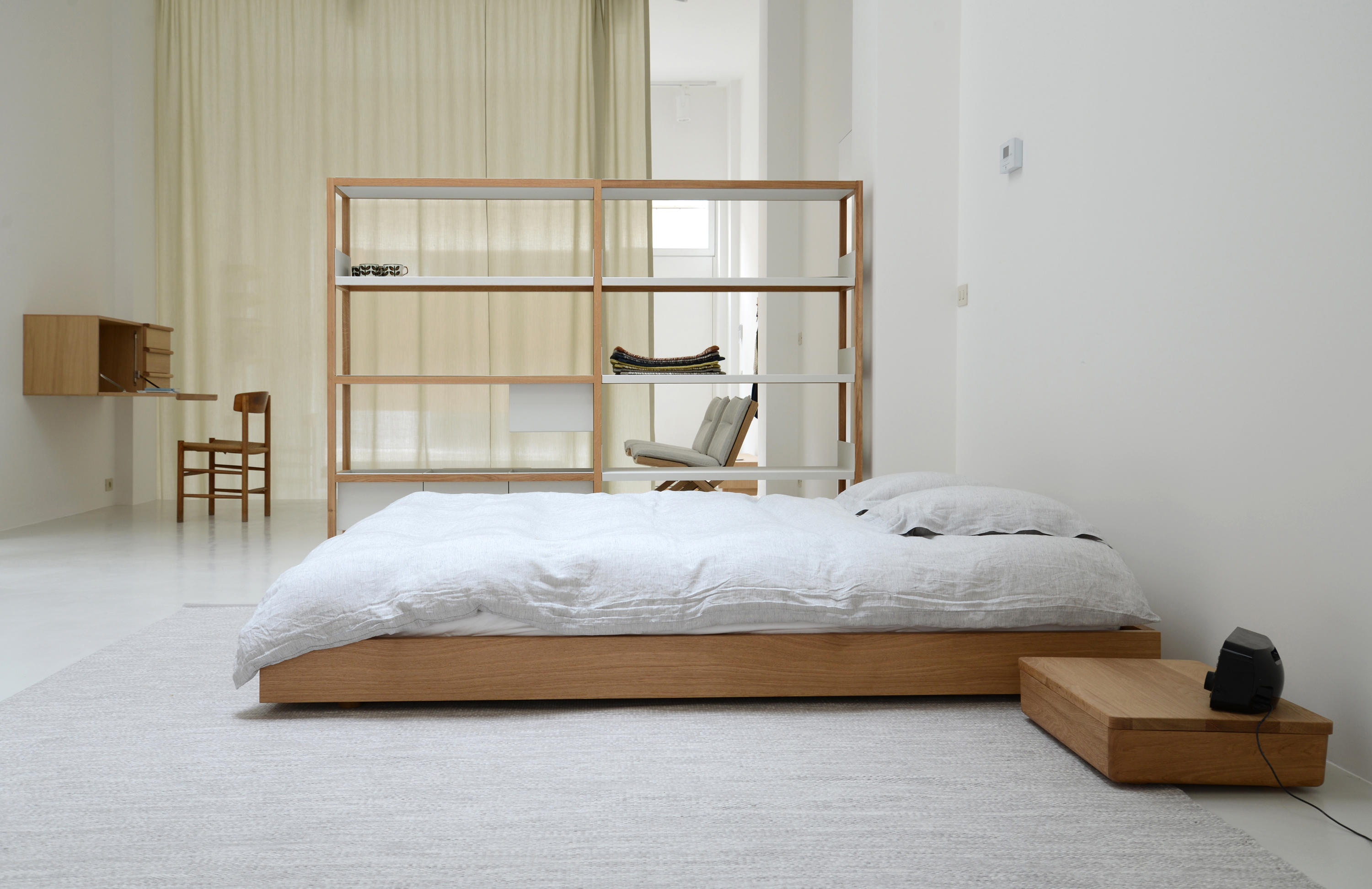 OAK BED FRAME - Single beds from Bautier | Architonic