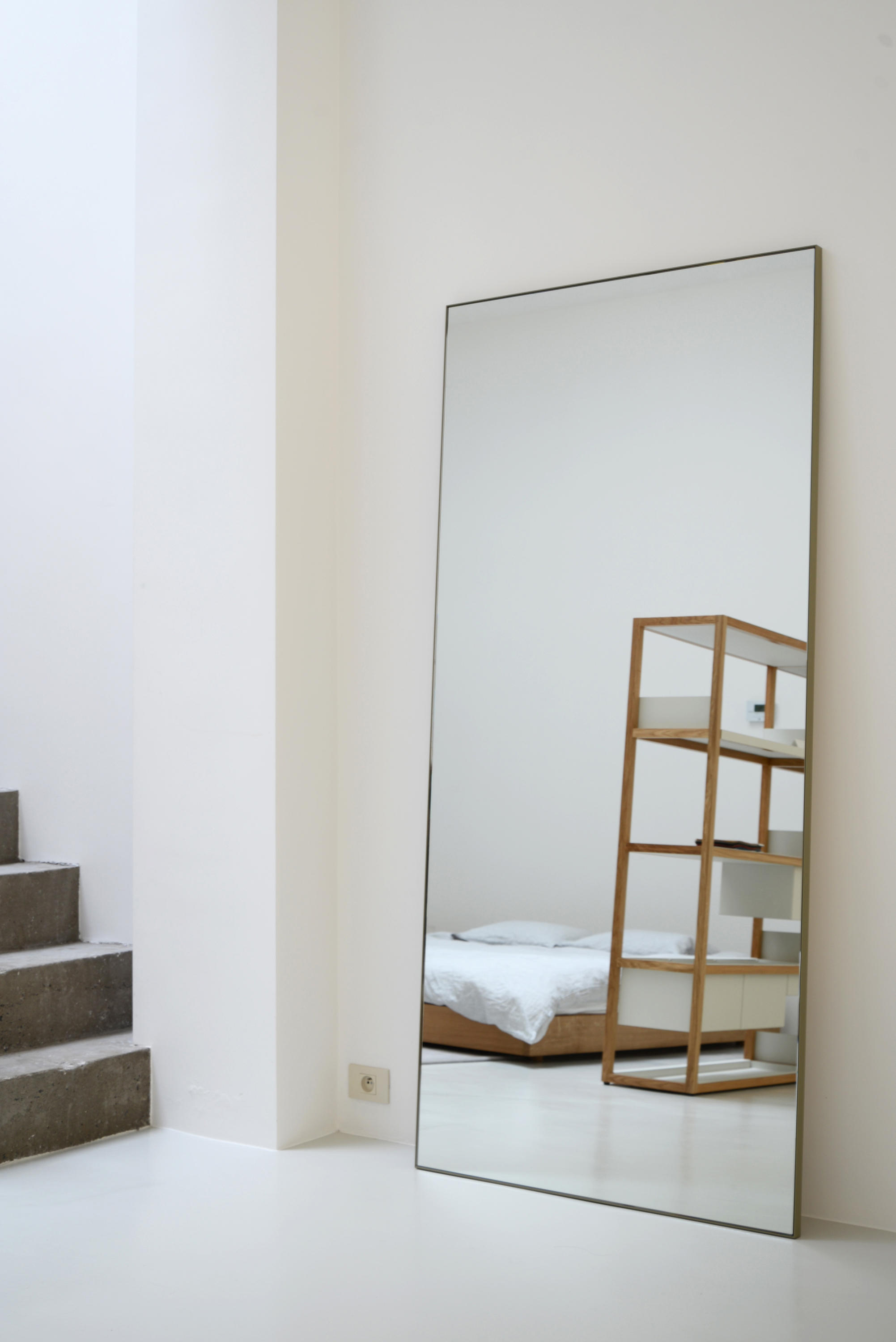 Steel Frame Mirror Mirrors From Bautier Architonic