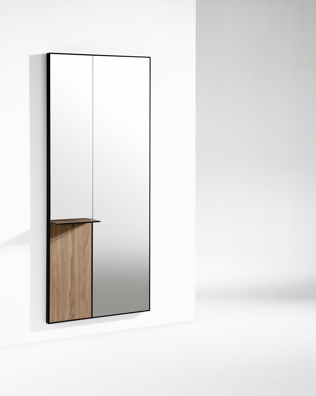 Mir miroir tag res consoles de kendo mobiliario for Miroir etagere