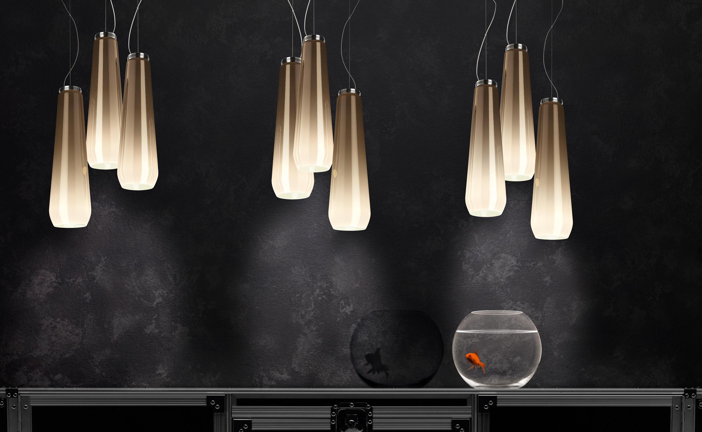 glass drop pendelleuchte allgemeinbeleuchtung von diesel. Black Bedroom Furniture Sets. Home Design Ideas