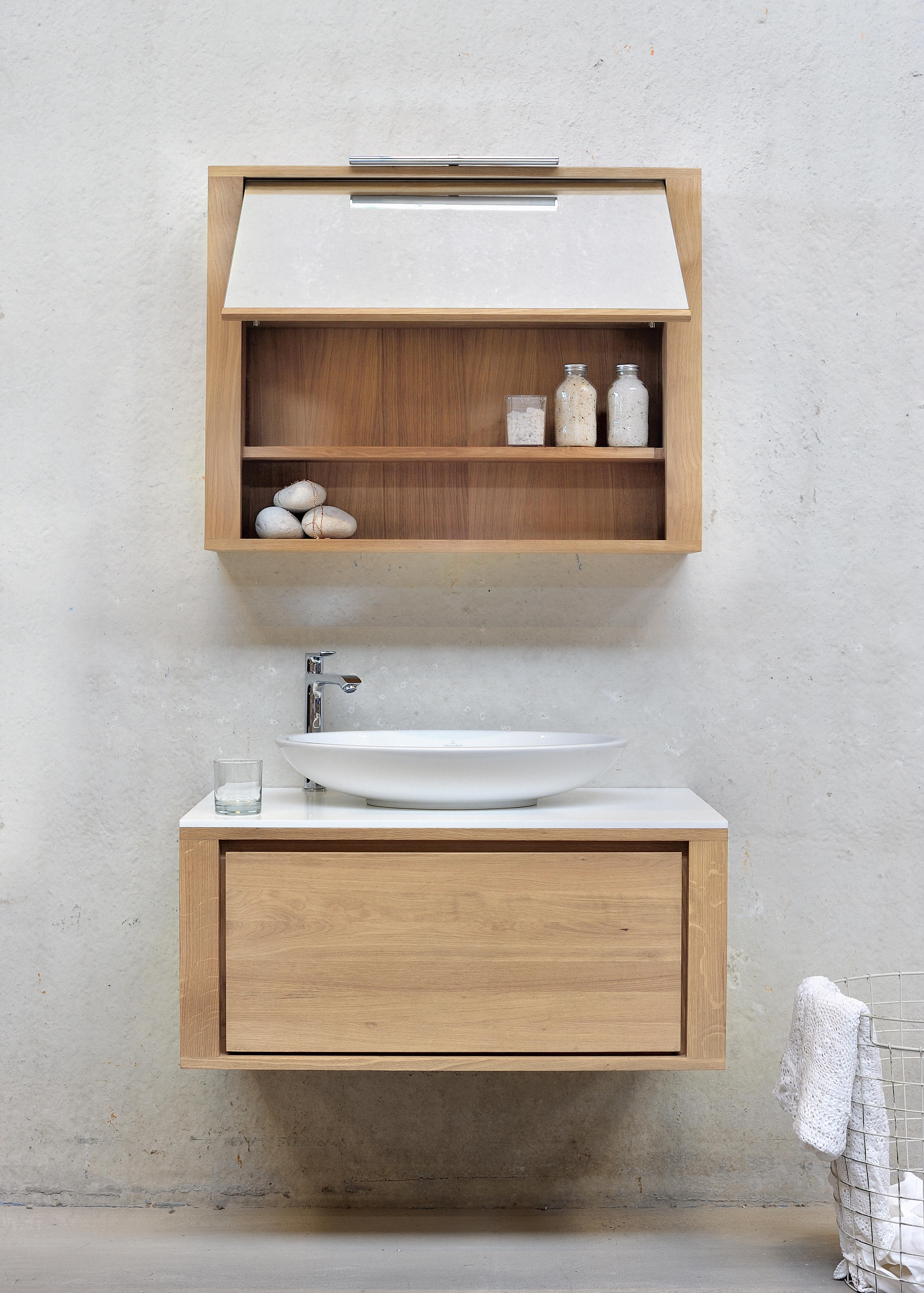 Shadow Wall Mounted Base Unit Vanity Units From Ethnicraft Architonic