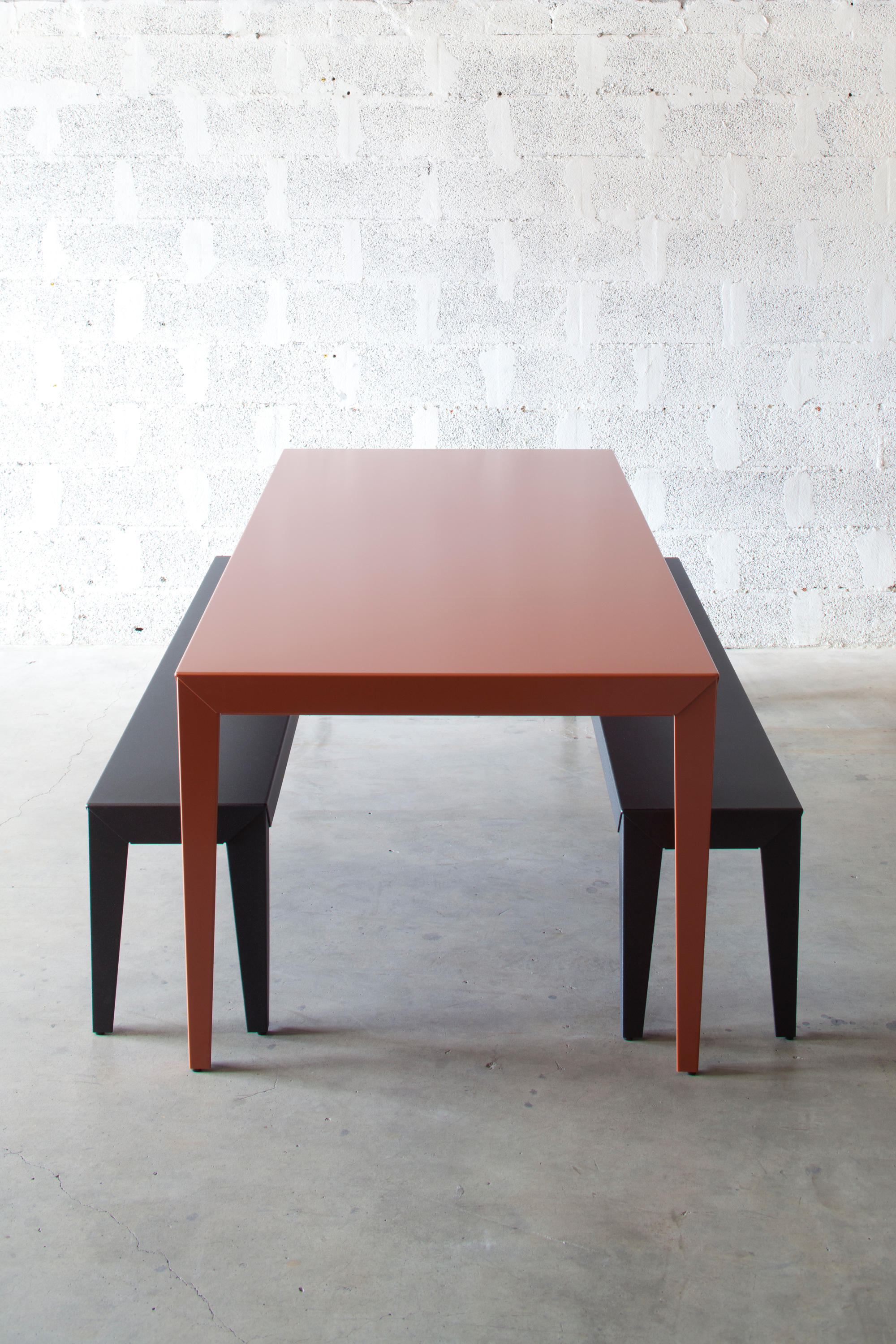 Zef table dining tables from mati re grise architonic - Table grise conforama ...