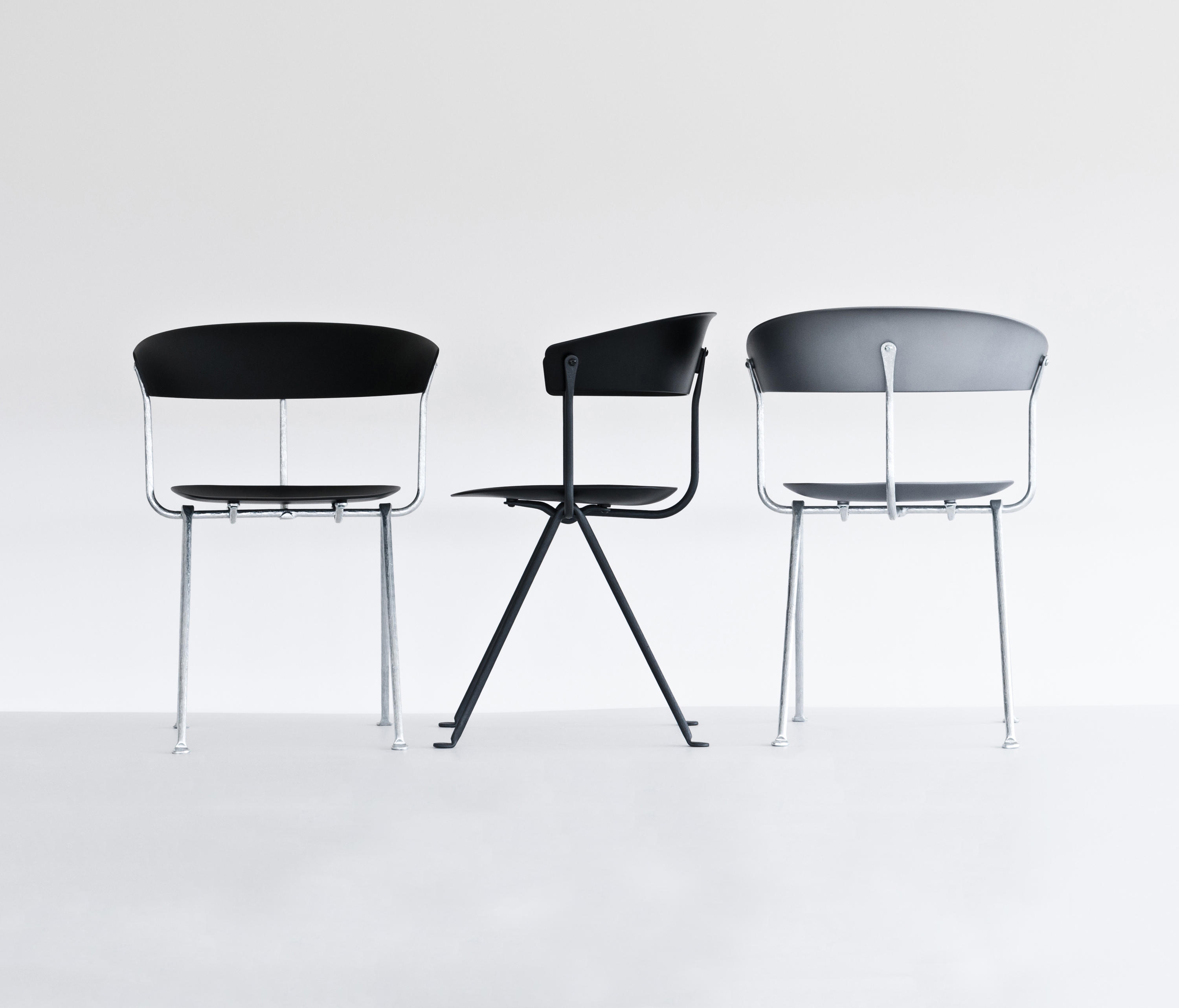 Officina chair visitors chairs side chairs from magis for Magis stuhl