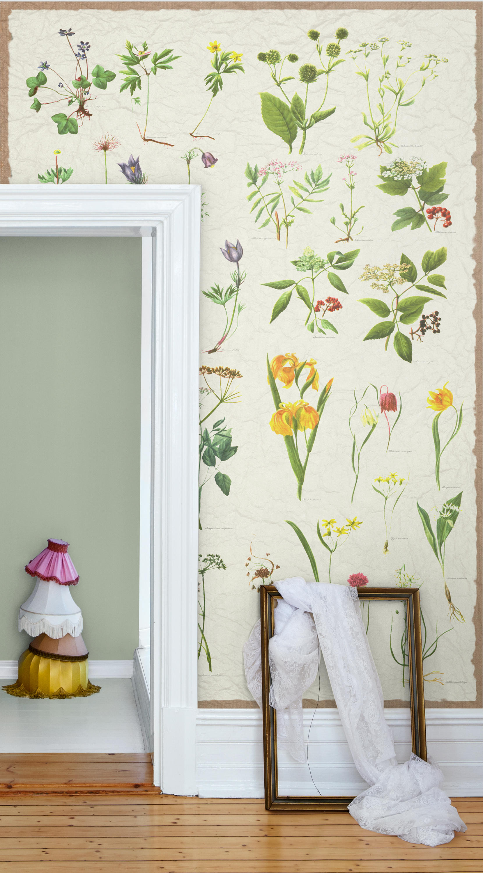 Nostalgic Wall Street Bespoke Wall Coverings From Mr