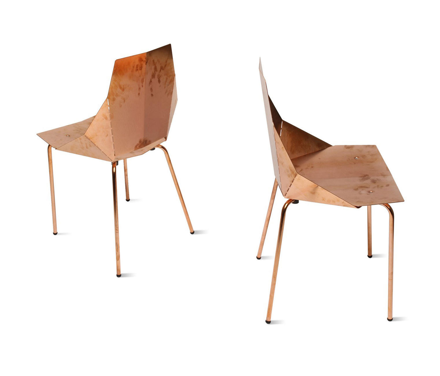 REAL GOOD CHAIR COPPER Restaurant chairs from Blu Dot
