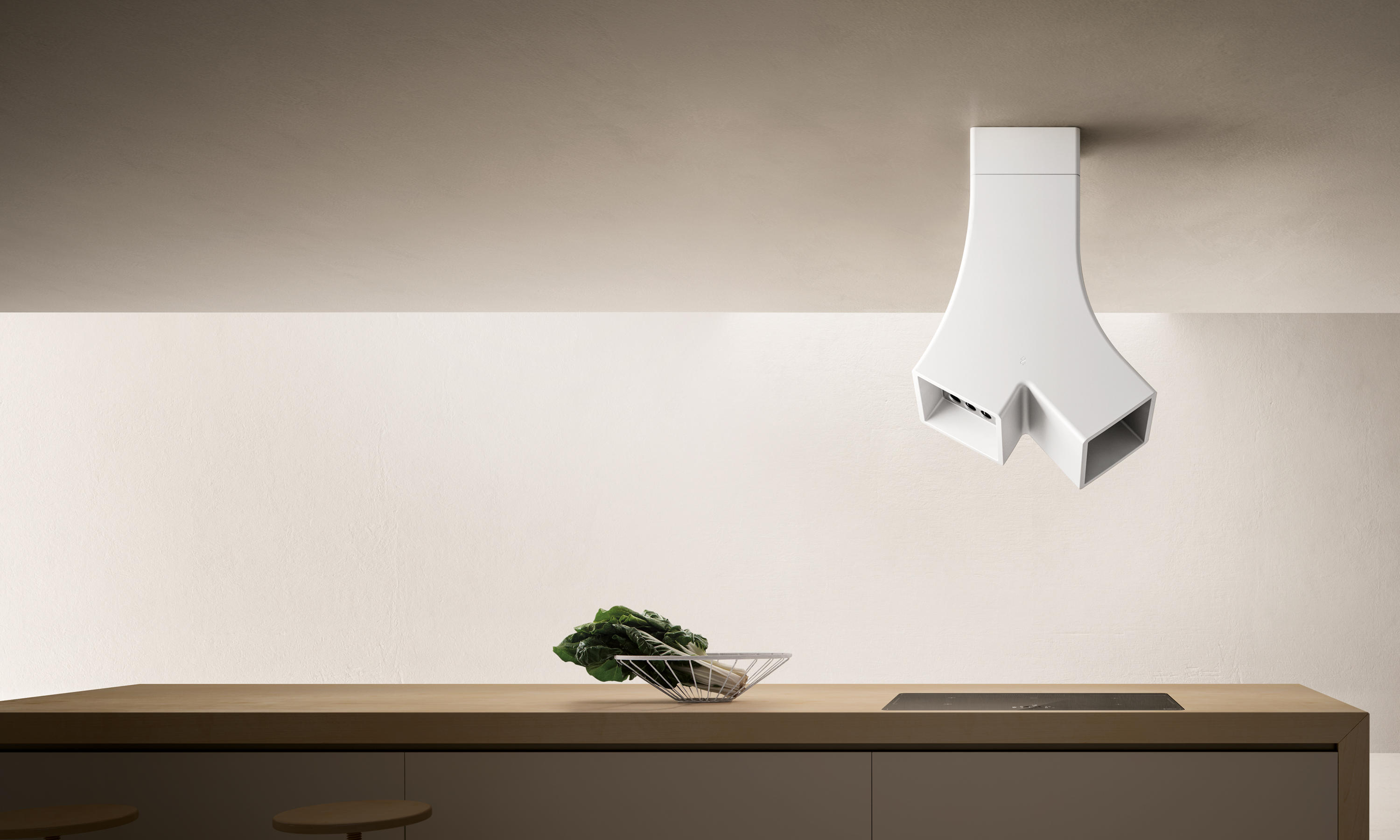 Ye Island Kitchen Hoods From Elica Architonic