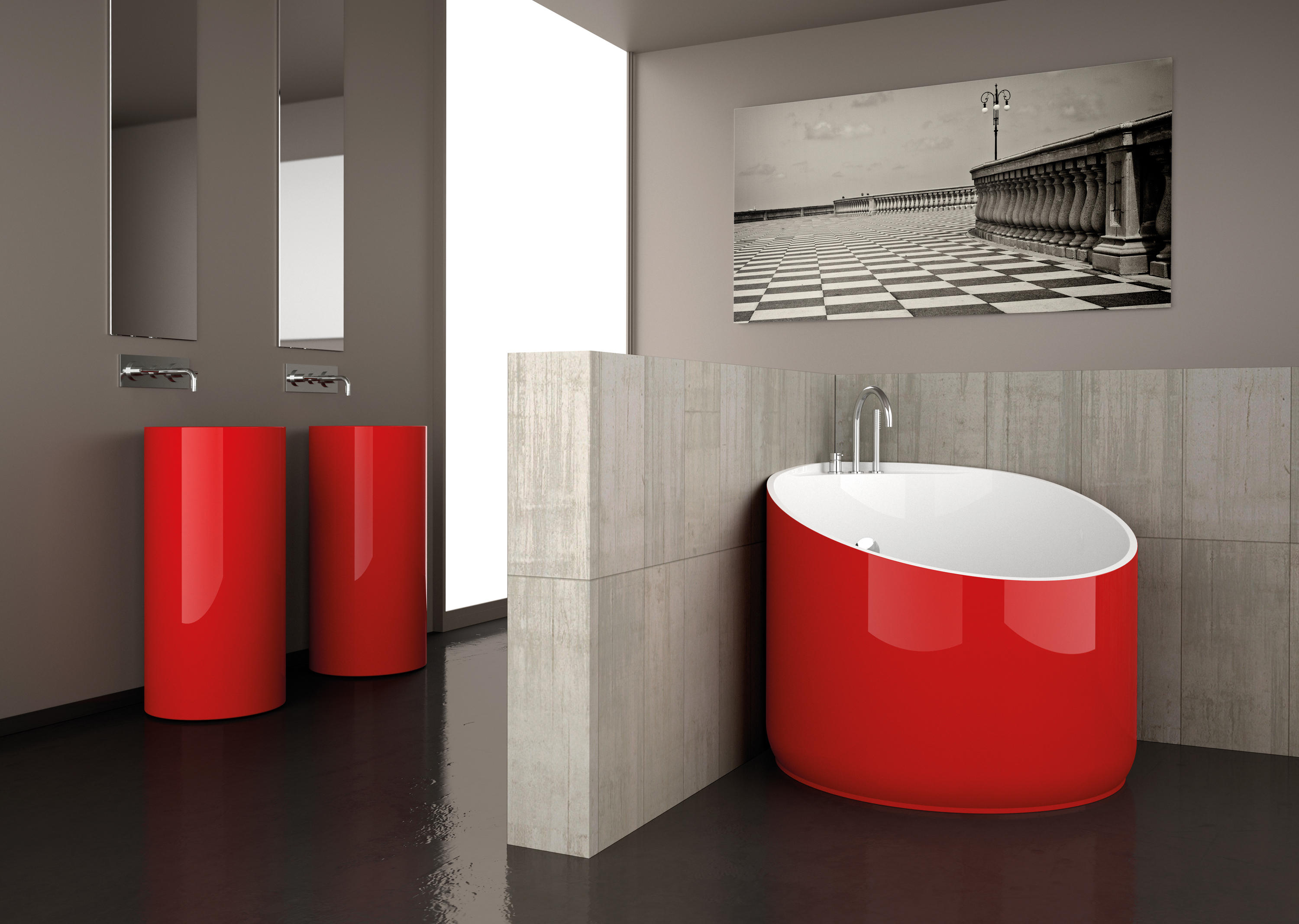 Vasca Da Bagno Glass : Mini bathtubs glass design architonic
