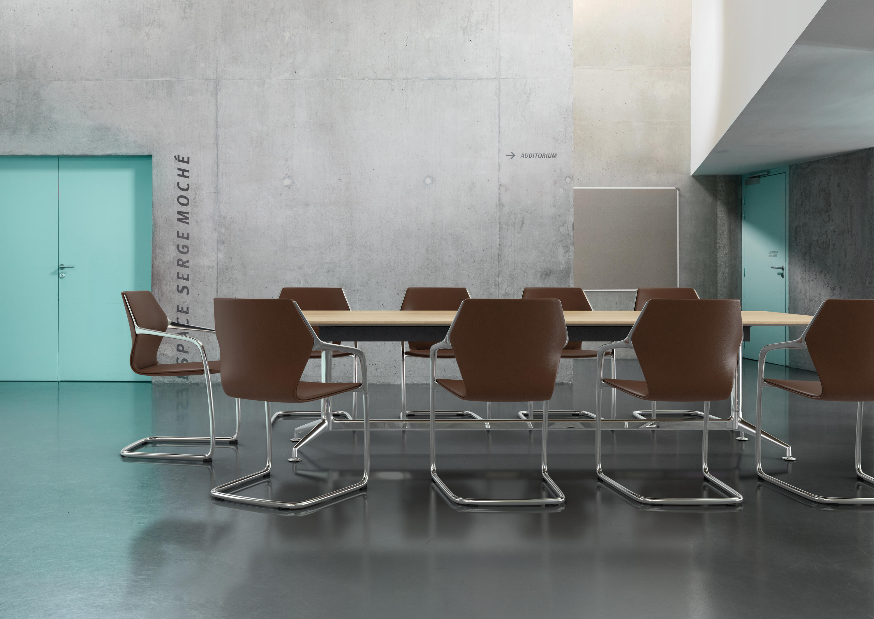 Ray Chair 9206 A Chairs From Brunner Architonic