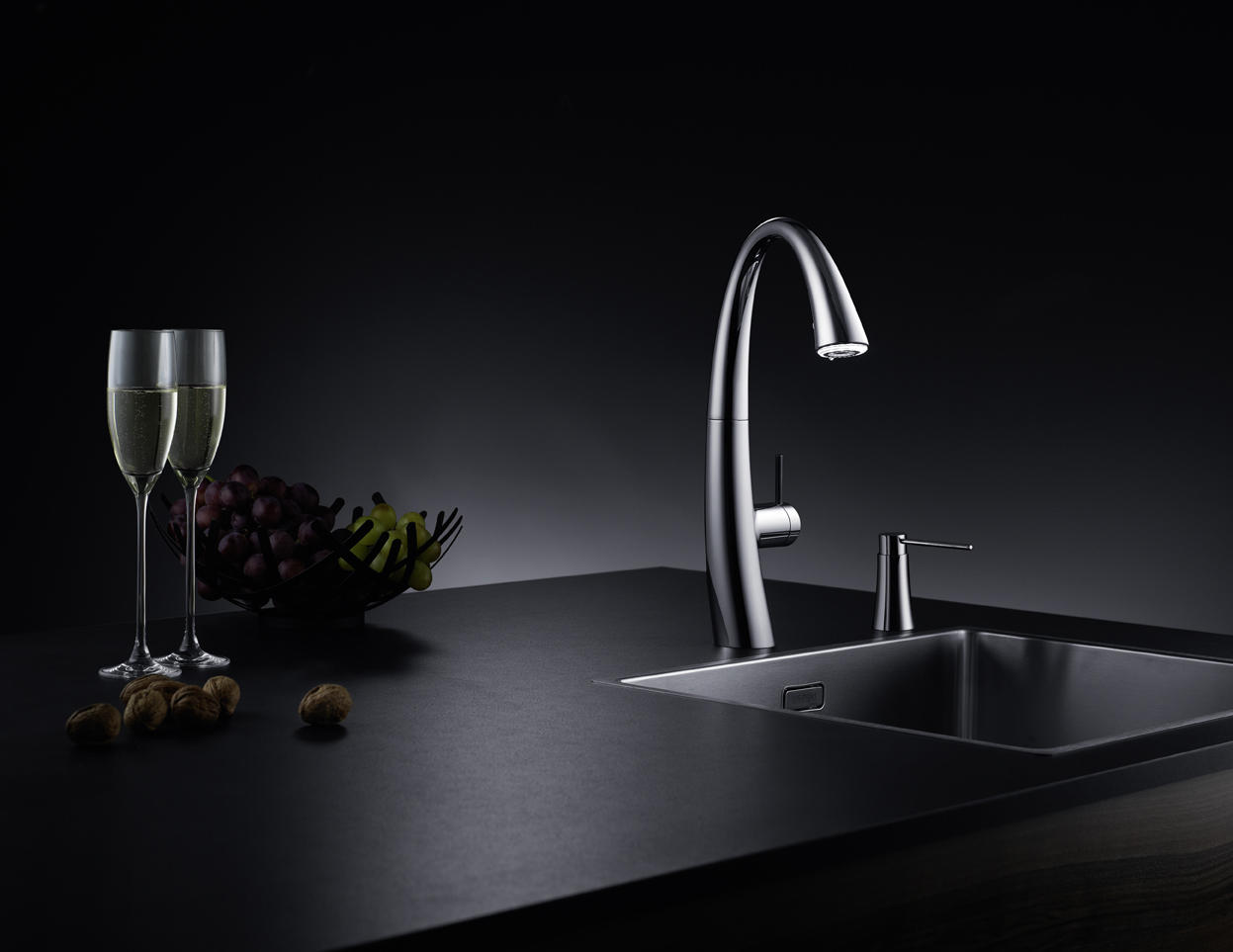 kwc zoe lever mixer swivel spout 90 wash basin taps from kwc